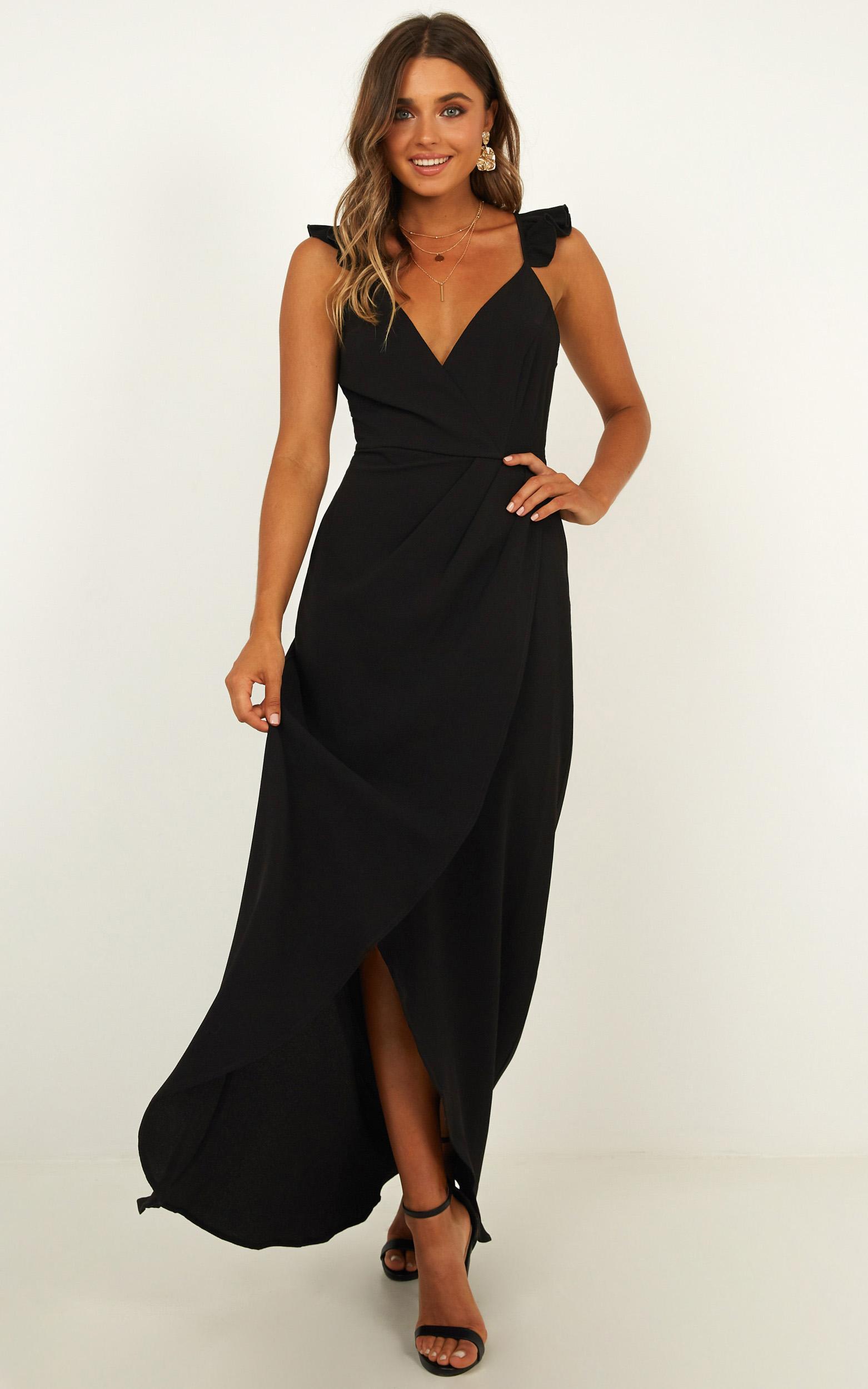 Trust Nobody Dress in black - 14 (XL), Black, hi-res image number null