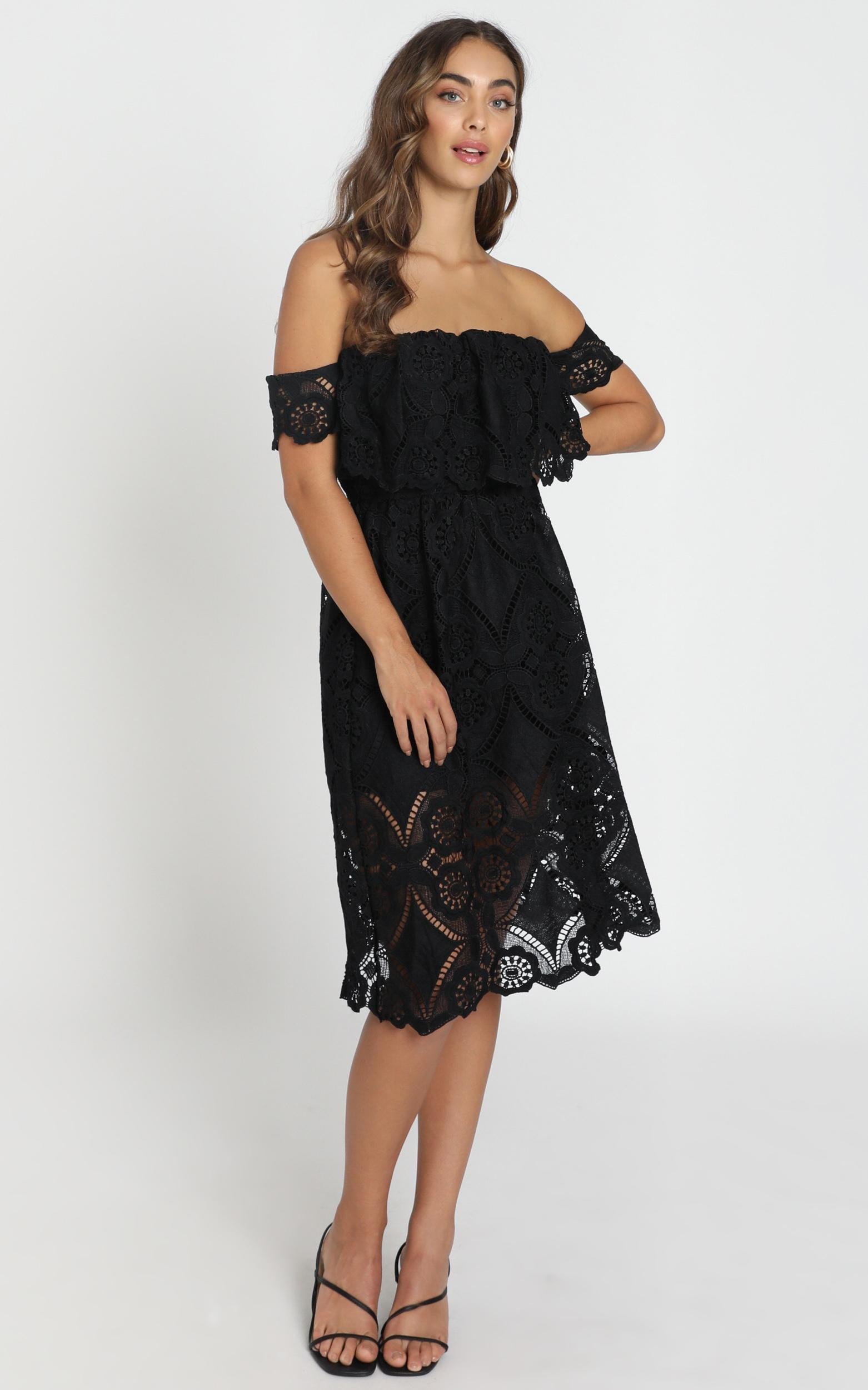 Get Ready dress in black lace - 6 (XS), Black, hi-res image number null