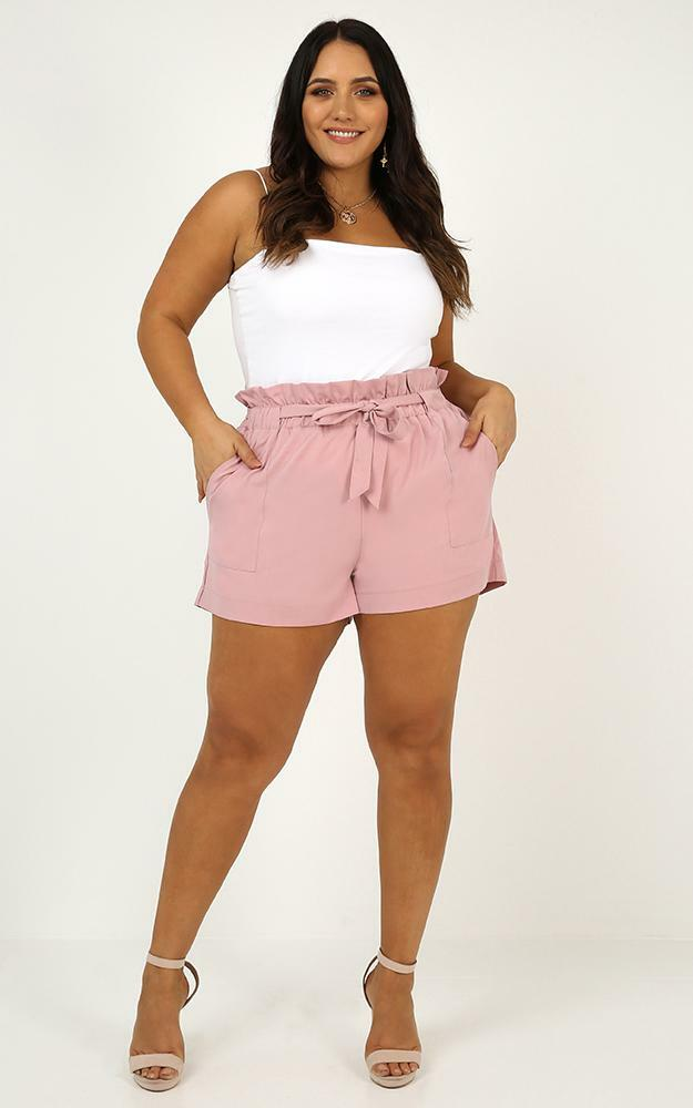 All Rounder shorts in mauve - 6 (XS), Mauve, hi-res image number null