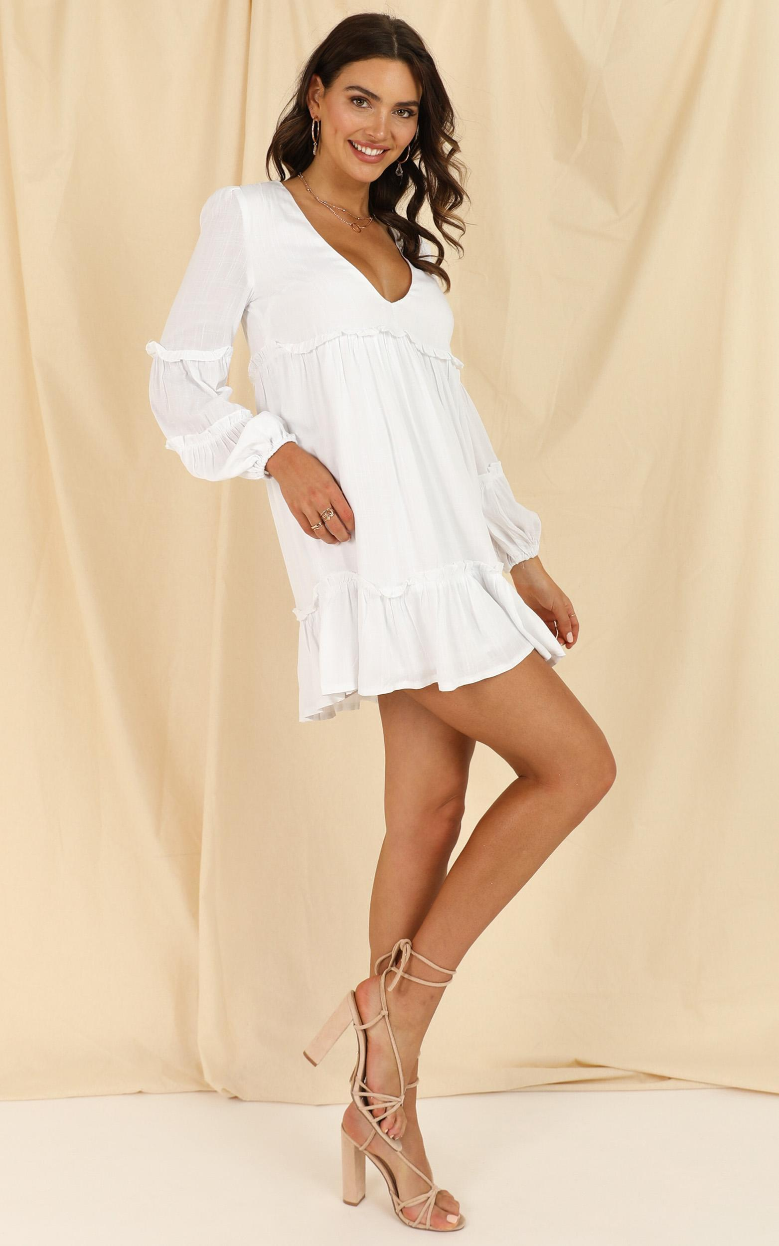 Summer soul dress in white - 20 (XXXXL), White, hi-res image number null