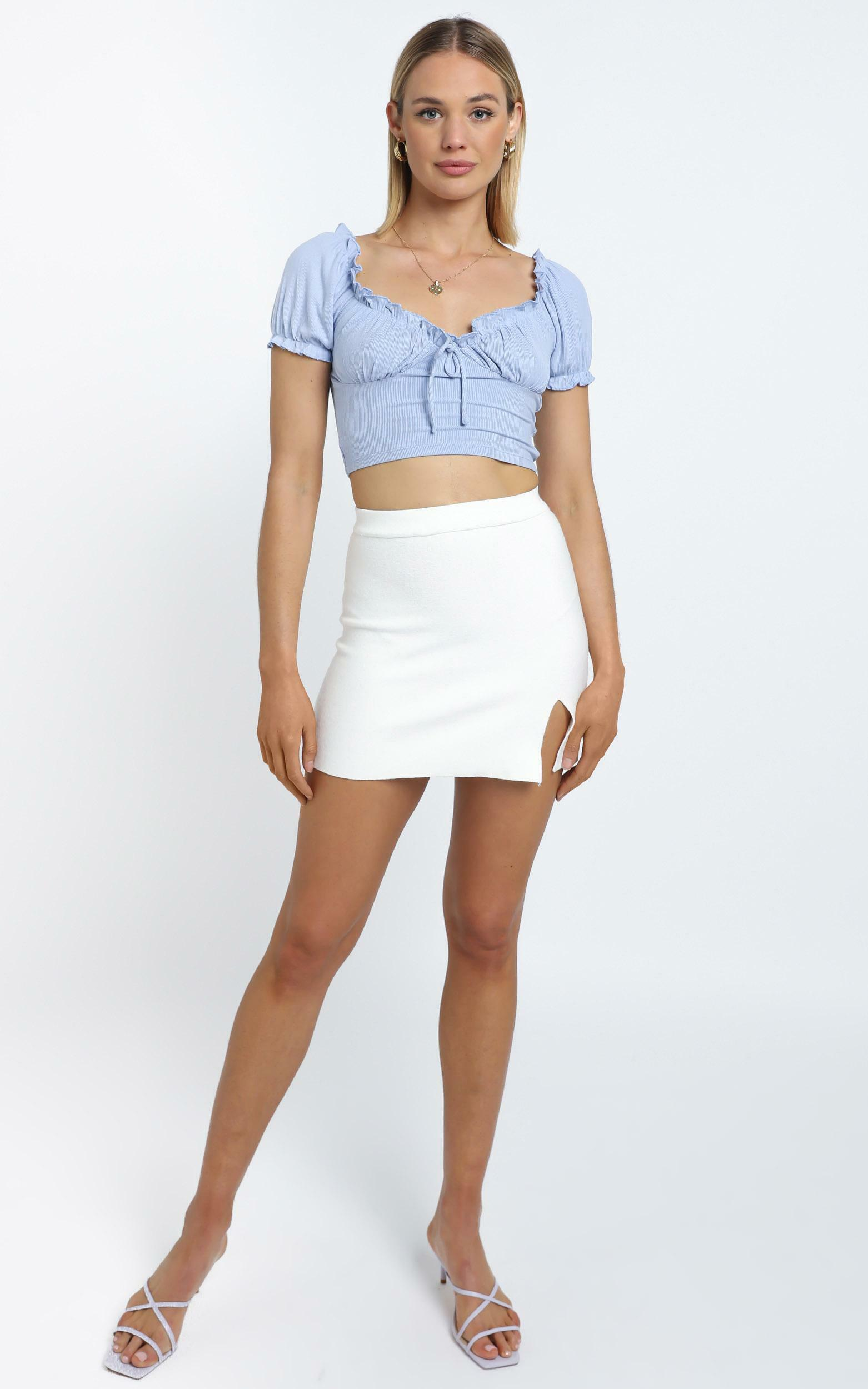 Parsons Top in Blue - 14 (XL), Blue, hi-res image number null