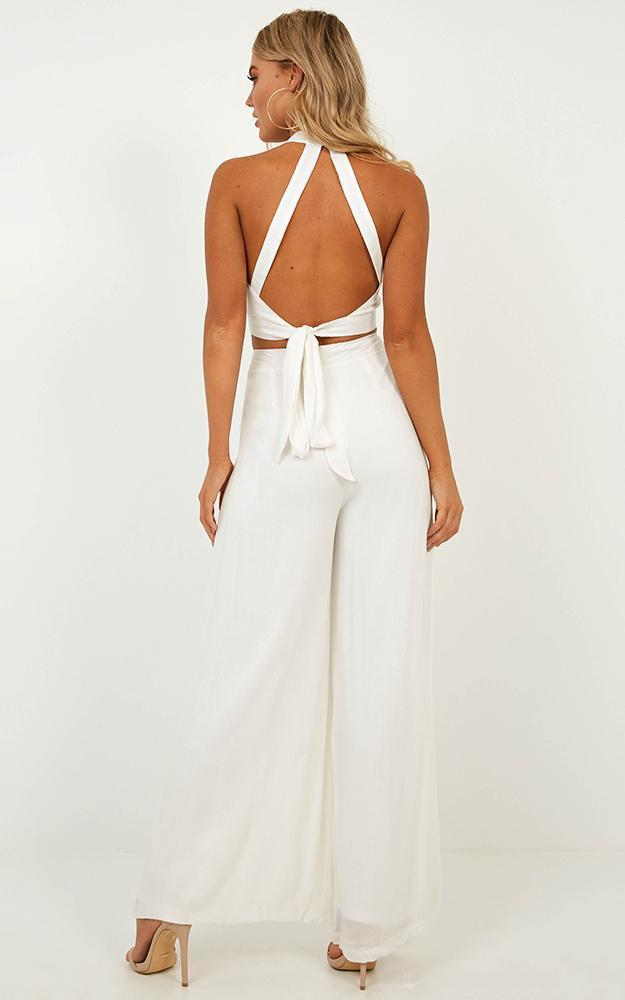 Better Off Now Two Piece Set in white - 20 (XXXXL), White, hi-res image number null