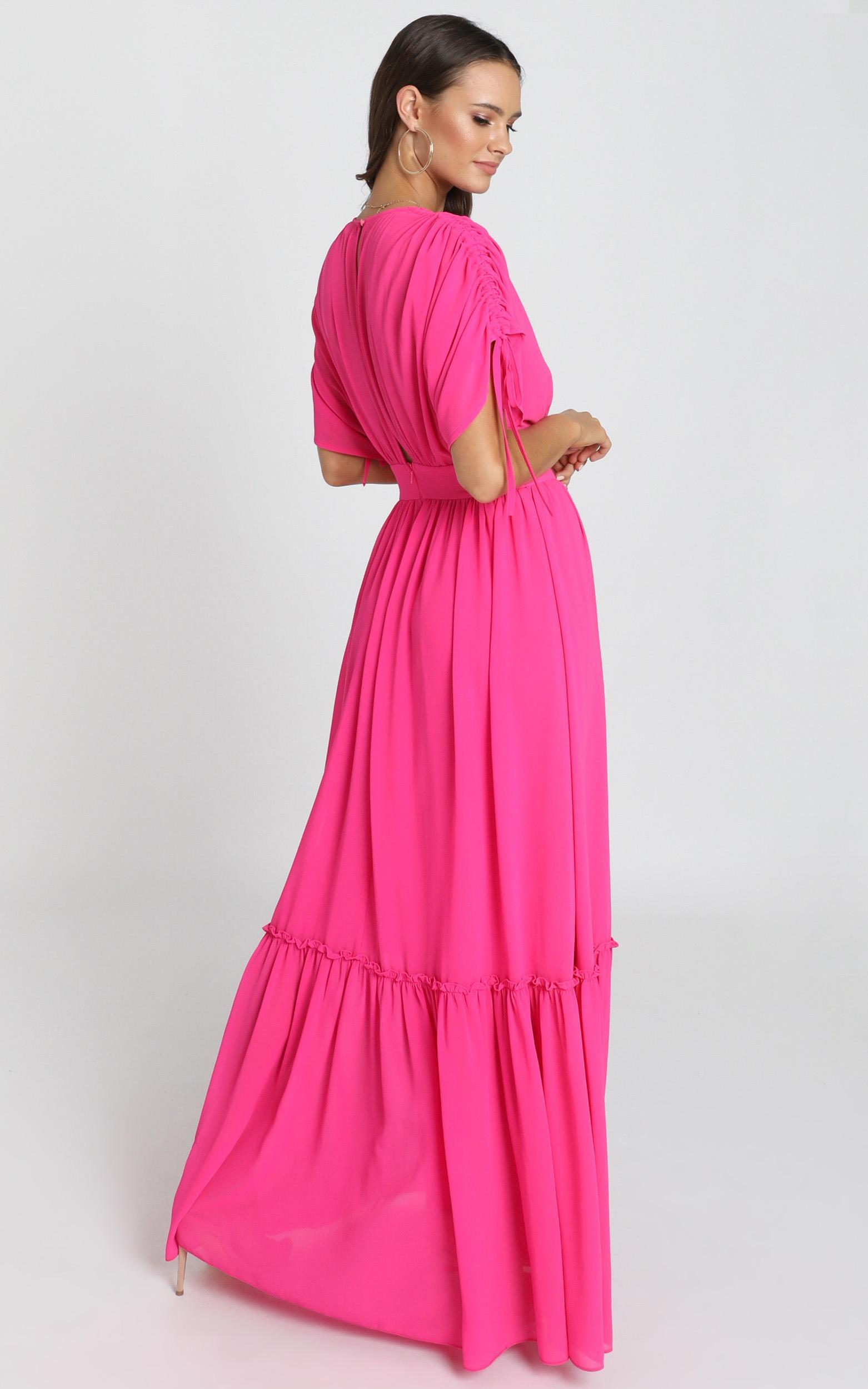 Angelic Dream Maxi Dress in hot pink - 12 (L), Pink, hi-res image number null