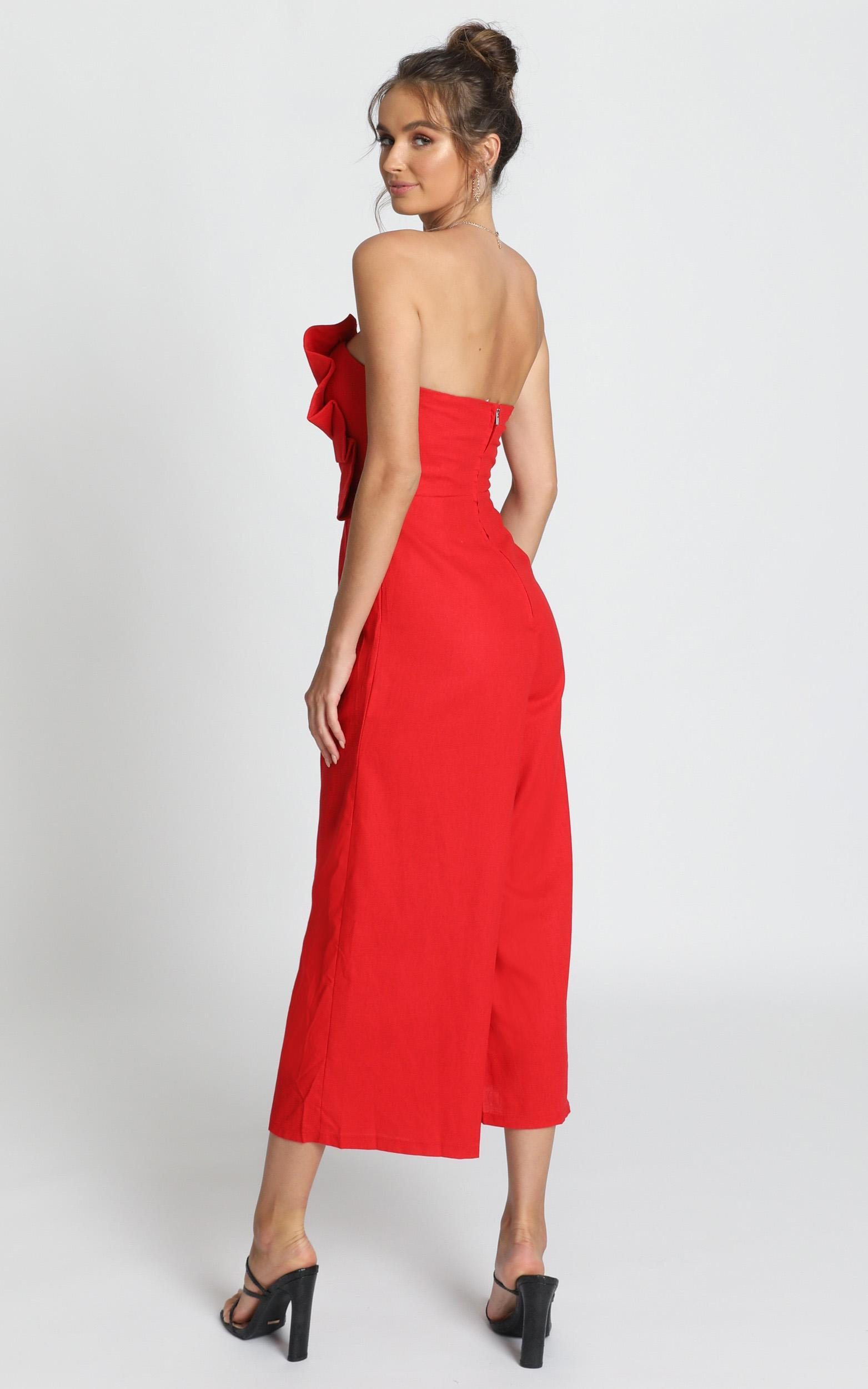 Sasha Jumpsuit In red - 12 (L), Red, hi-res image number null
