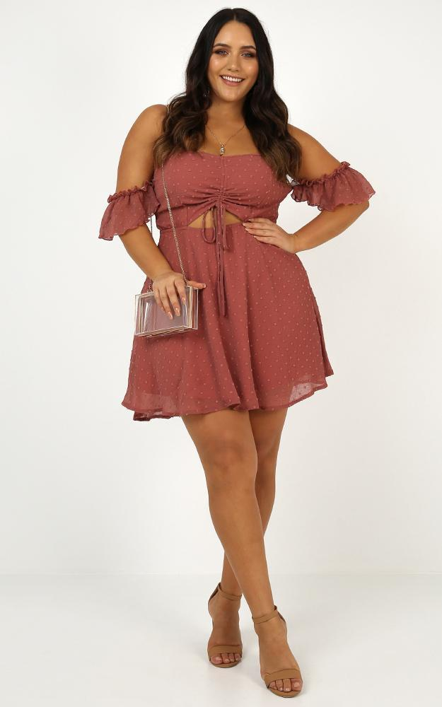 Take Flight Dress in dusty rose - 20 (XXXXL), Pink, hi-res image number null