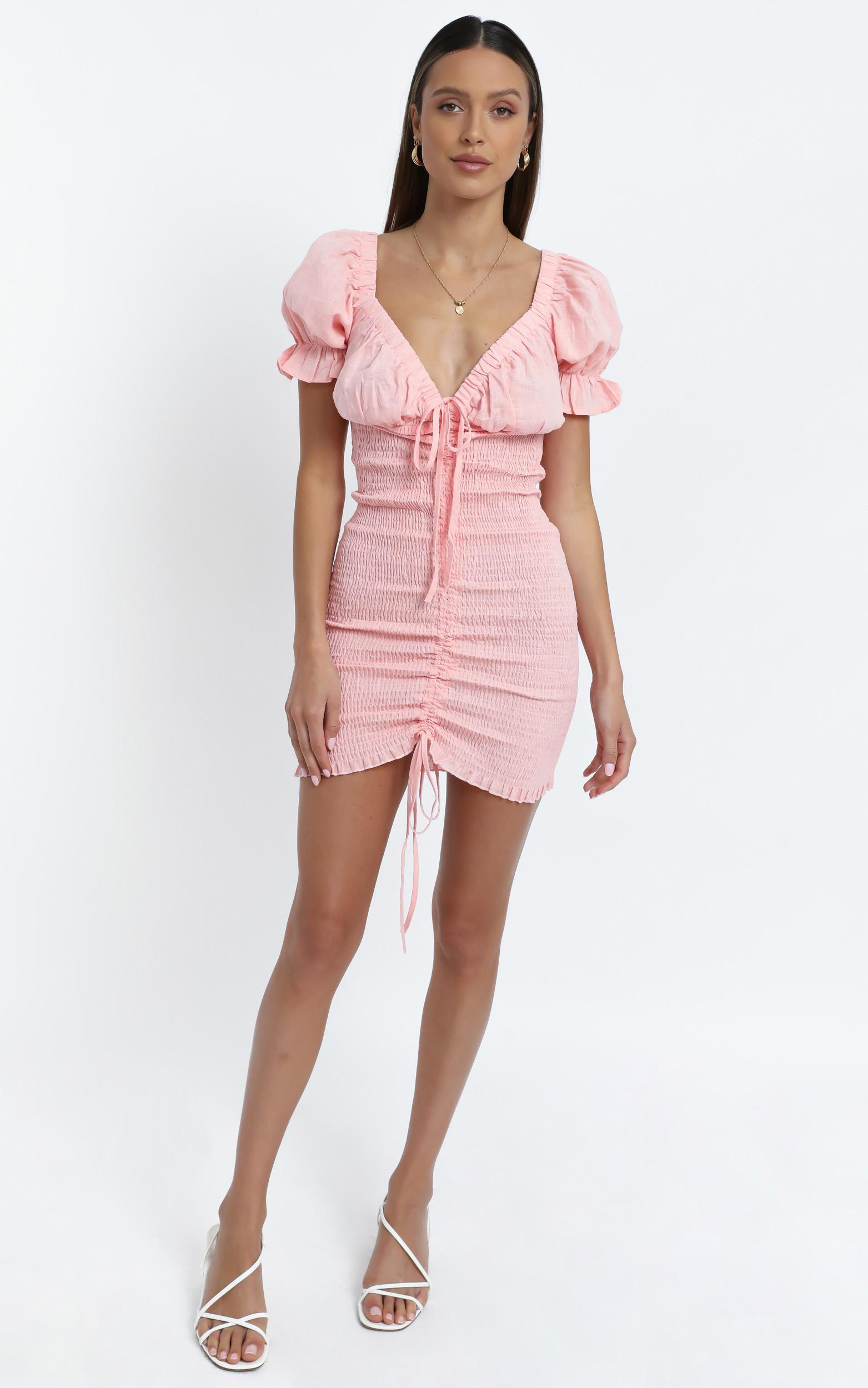 Elaine Dress in Pink - 14 (XL), Pink, hi-res image number null