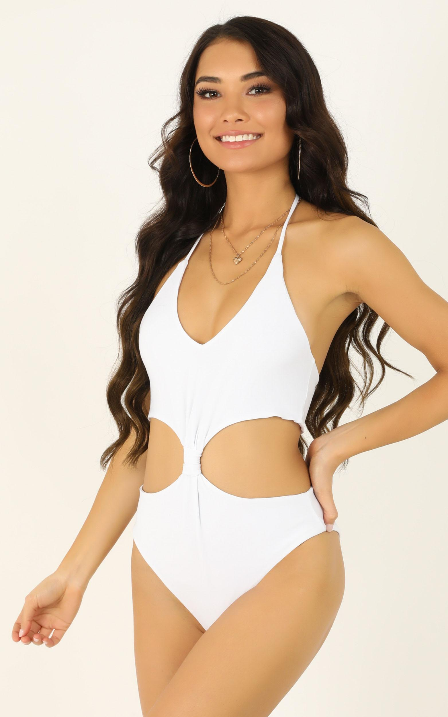 All The Possibilities bodysuit in white - 12 (L), White, hi-res image number null