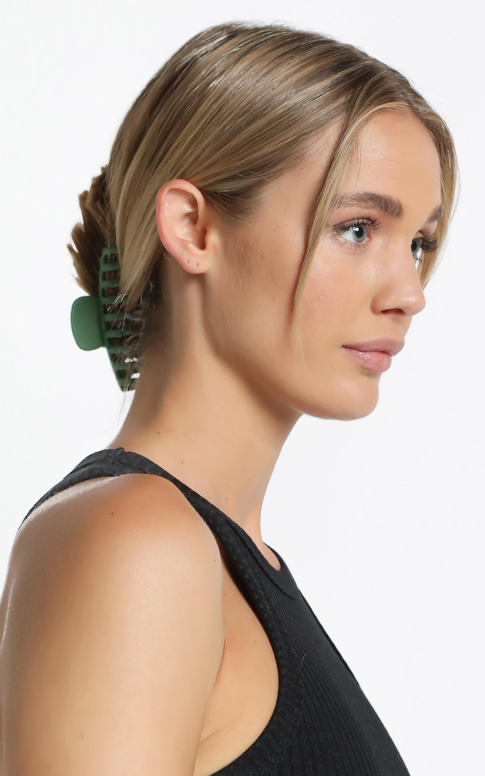 Bring It Back Hair Clip in Green, , hi-res image number null