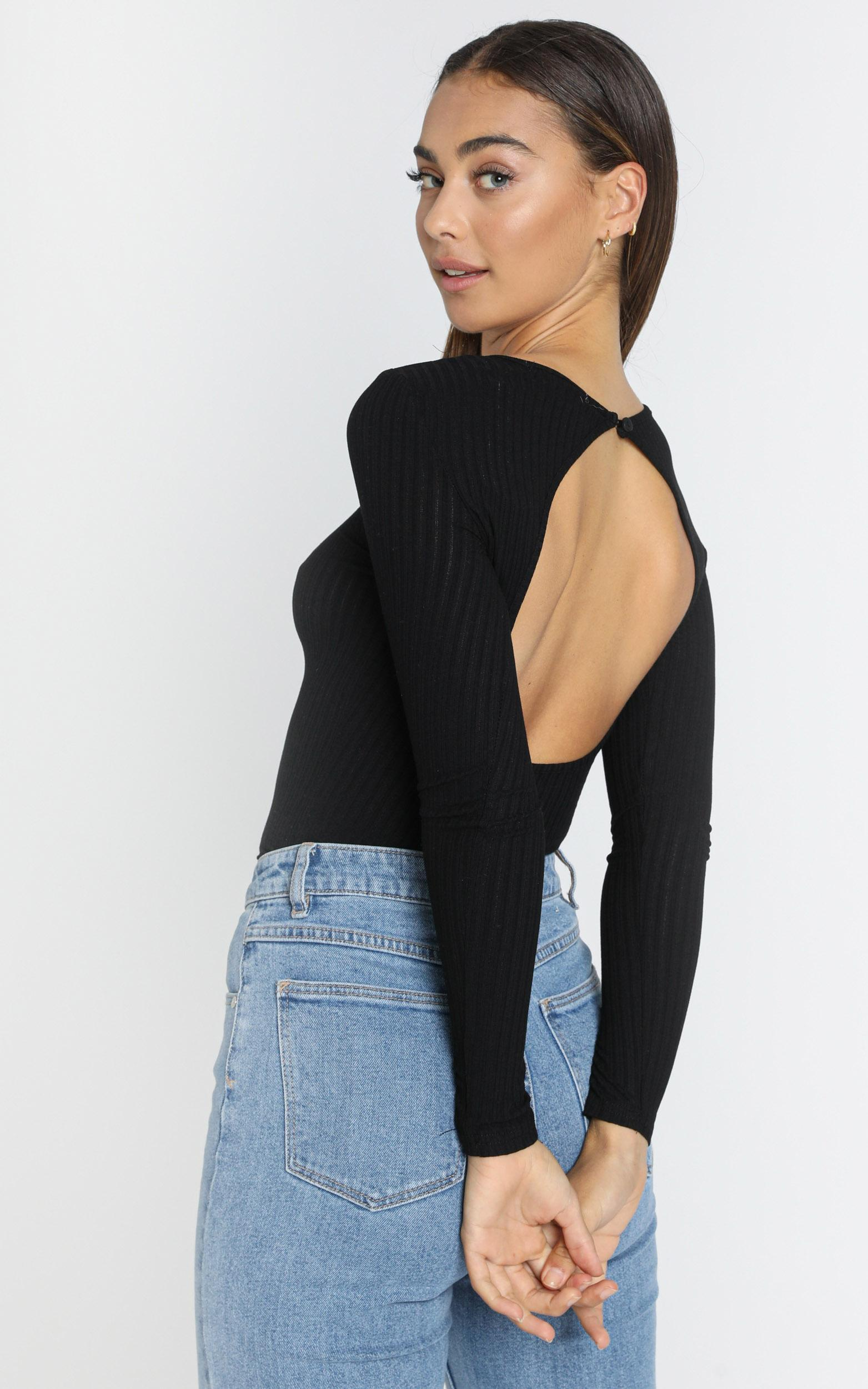Slone Top in Black - 6 (XS), Black, hi-res image number null