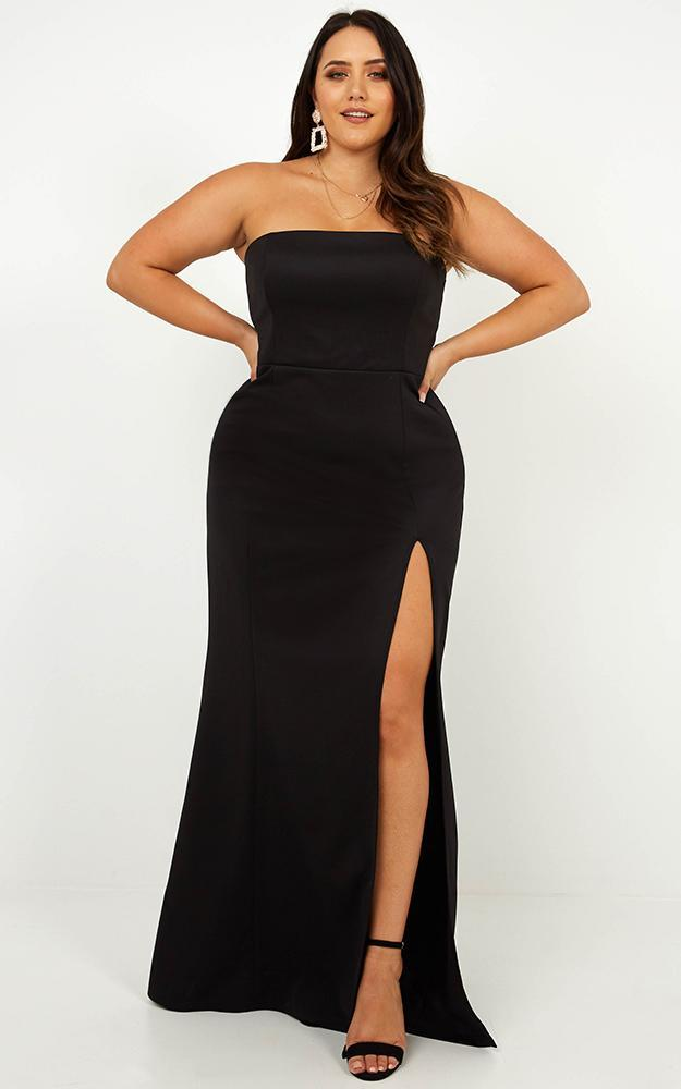 Look Sharp Dress in black - 20 (XXXXL), Black, hi-res image number null
