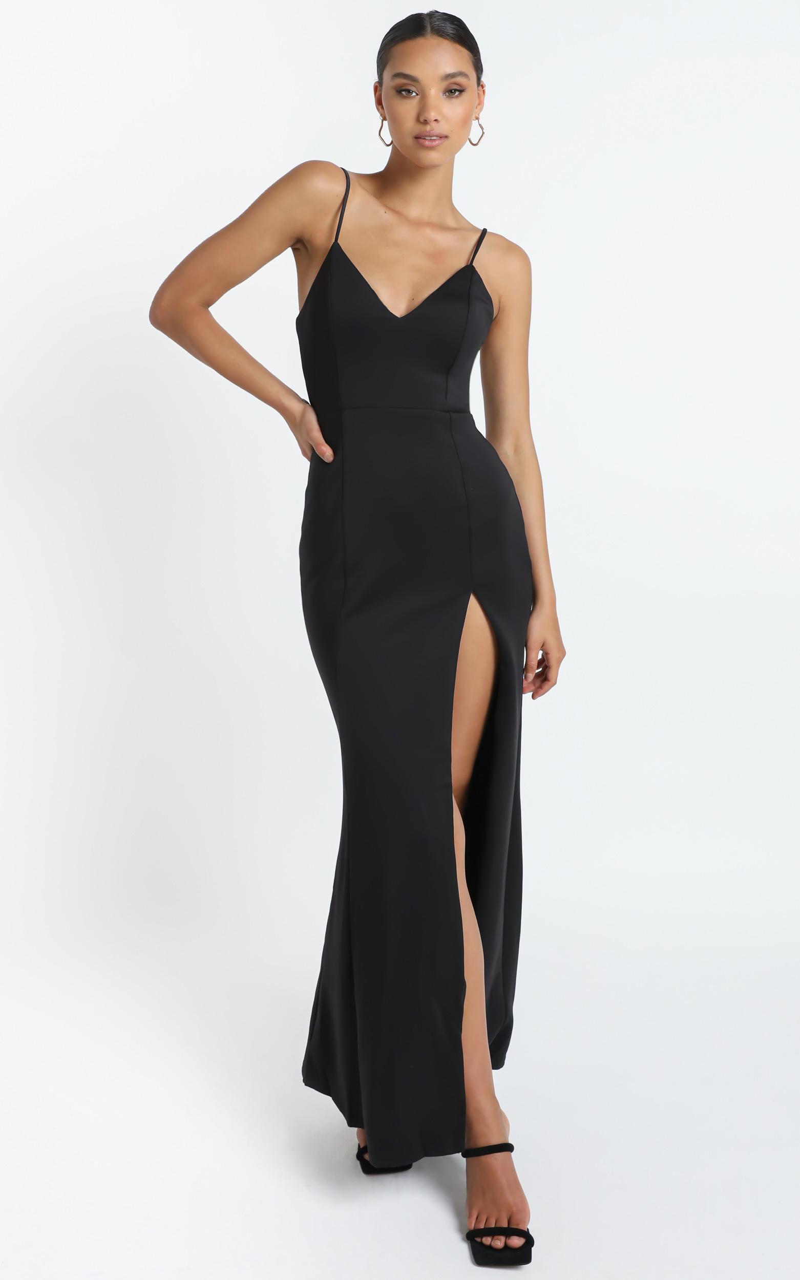 Dare To Dream Maxi Dress in black - 20 (XXXXL), Black, hi-res image number null