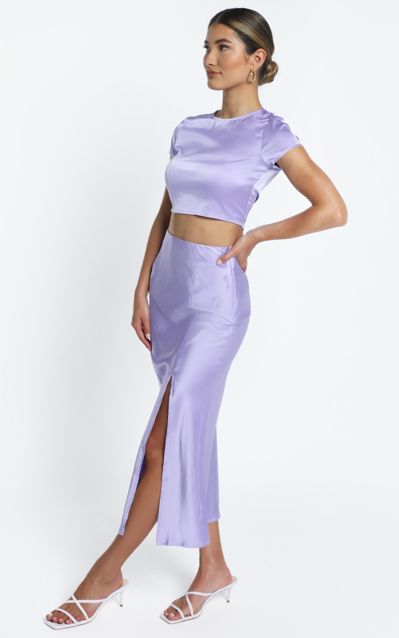 Elanora Two Piece set in Lilac - 14 (XL), Purple, hi-res image number null