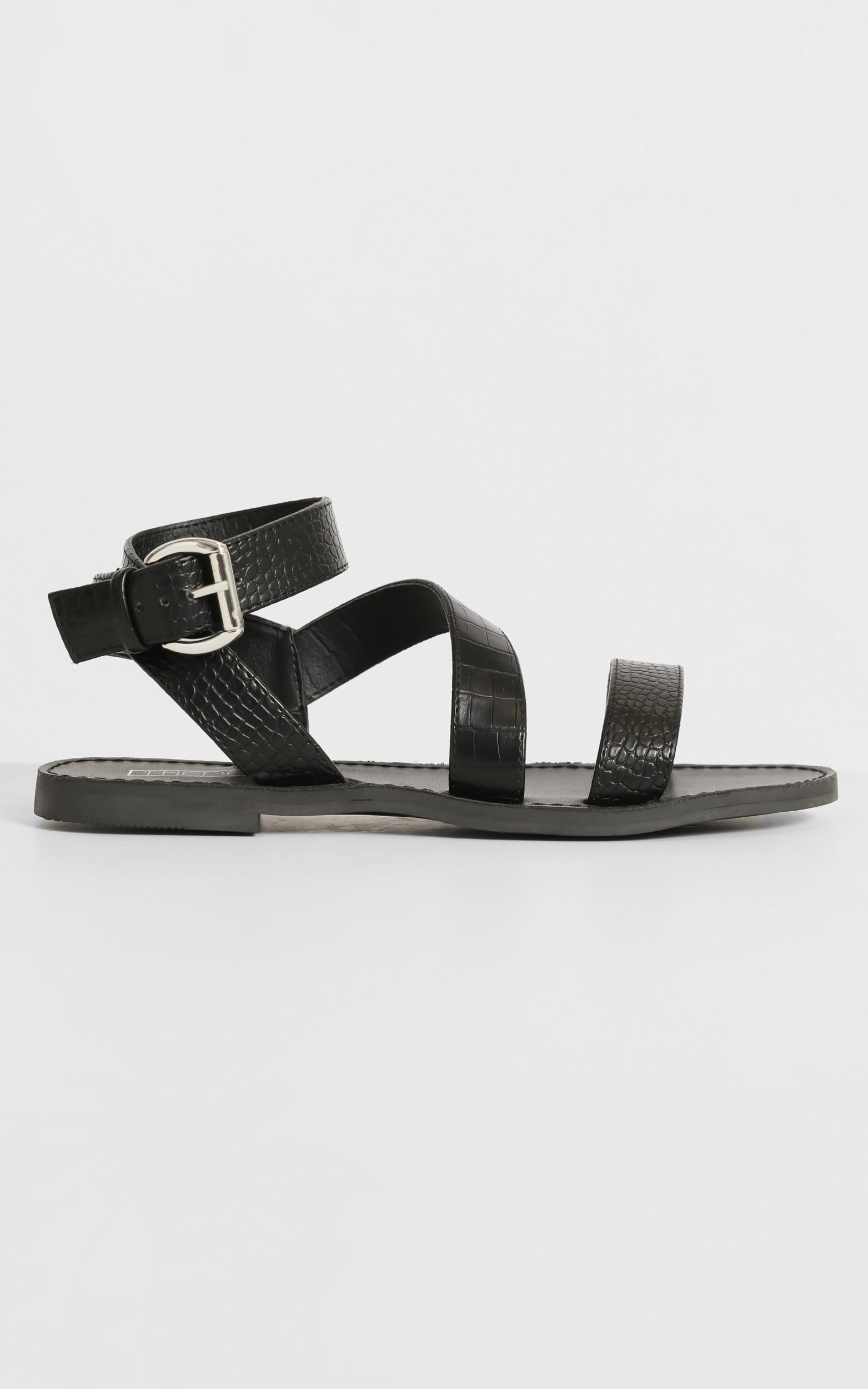 Therapy - Rimes Sandals in Black - 5, Black, hi-res image number null