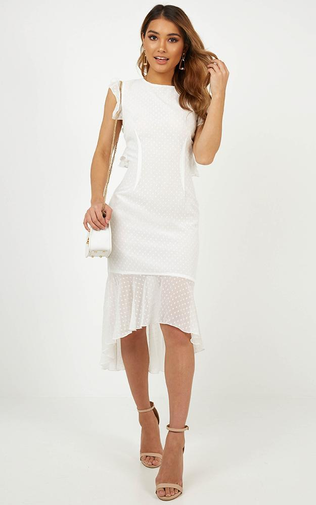 Tighten The Strings Dress in white - 20 (XXXXL), WHT1, hi-res image number null