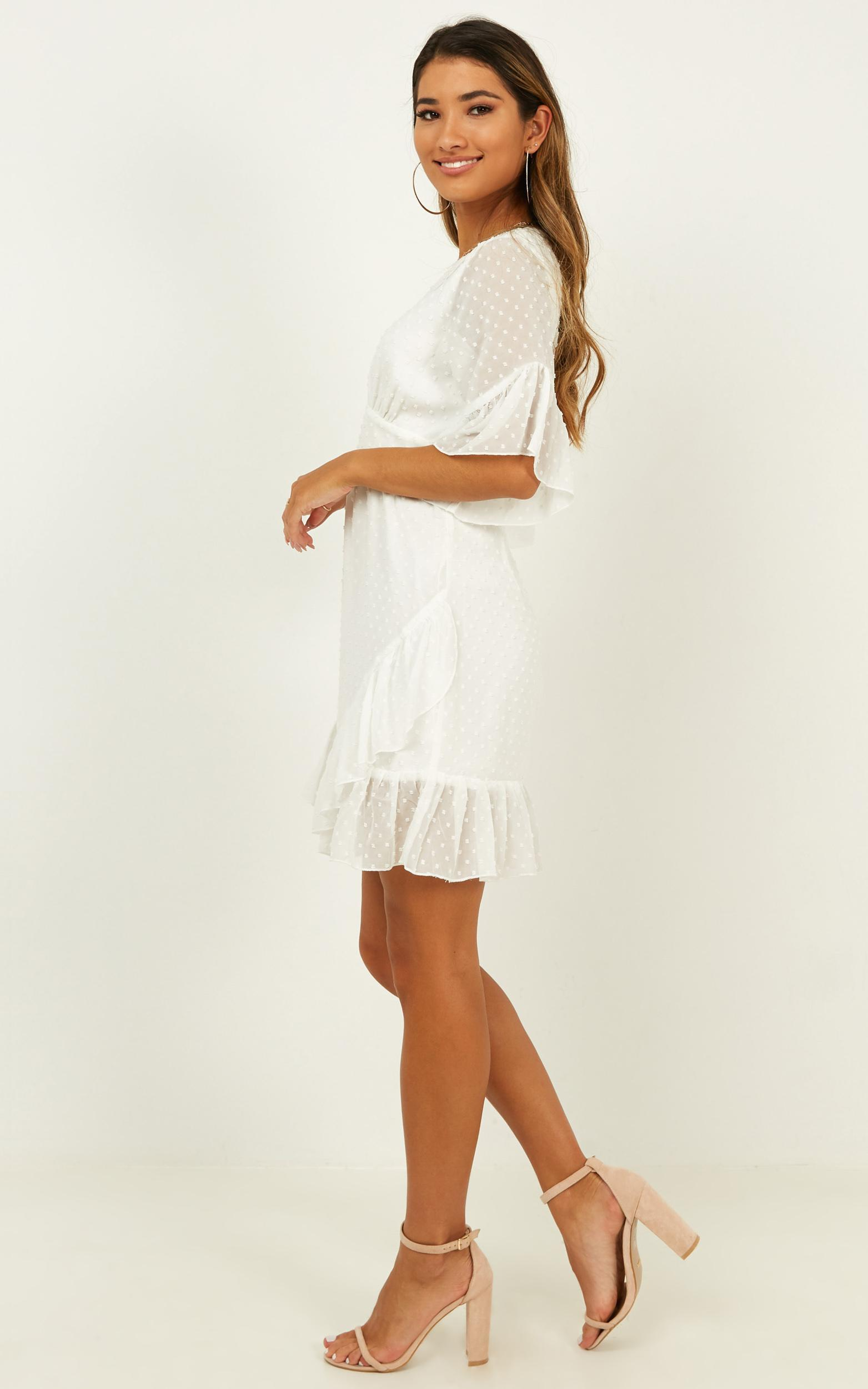 Faded Love dress in white - 12 (L), White, hi-res image number null
