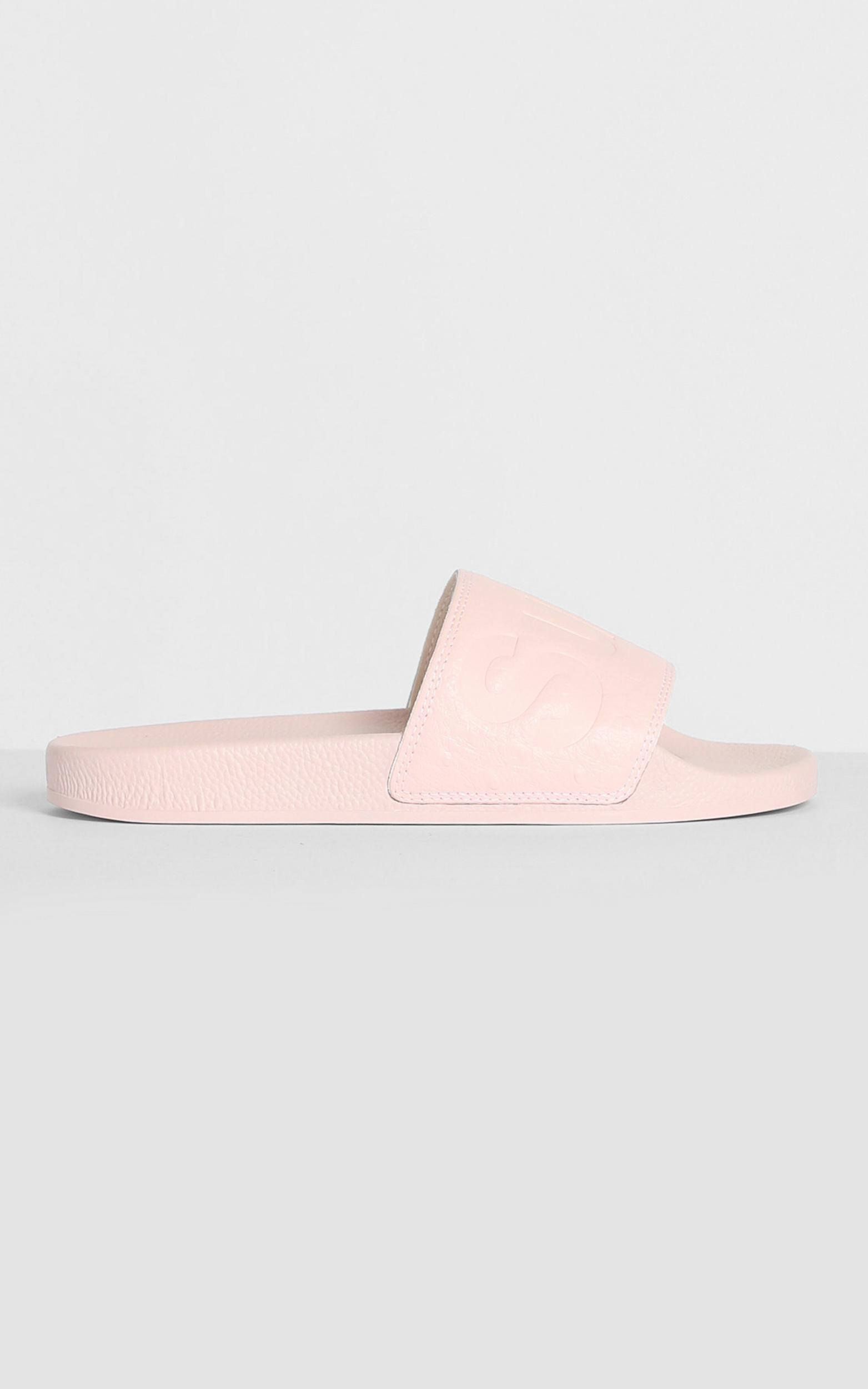 Superga - 1908 Ostrichpuu Slides in Pink Smoke , Pink, hi-res image number null