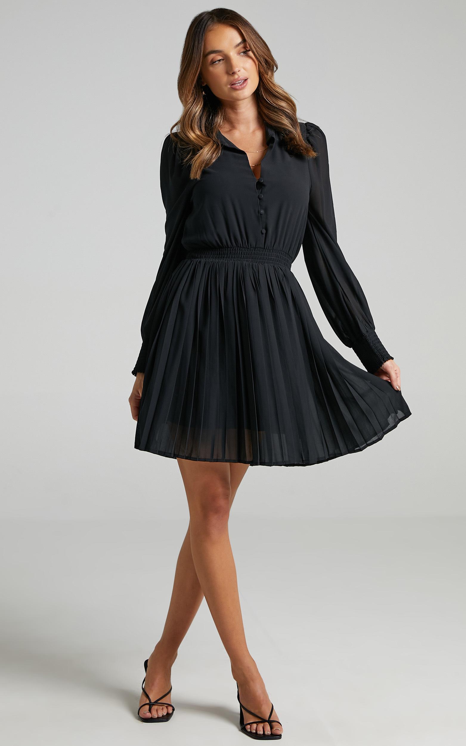 Carmi Dress in Black - 06, BLK1, hi-res image number null