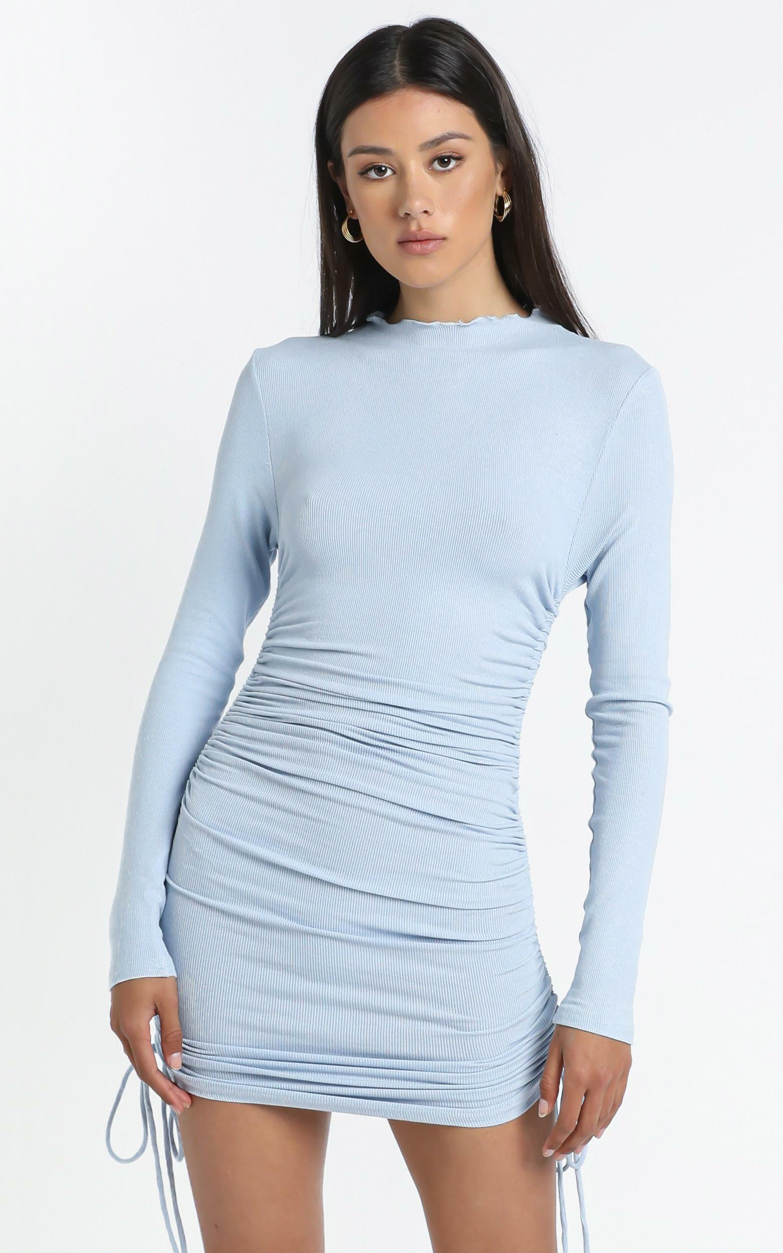 Tammy Dress in Blue - 14 (XL), Blue, hi-res image number null