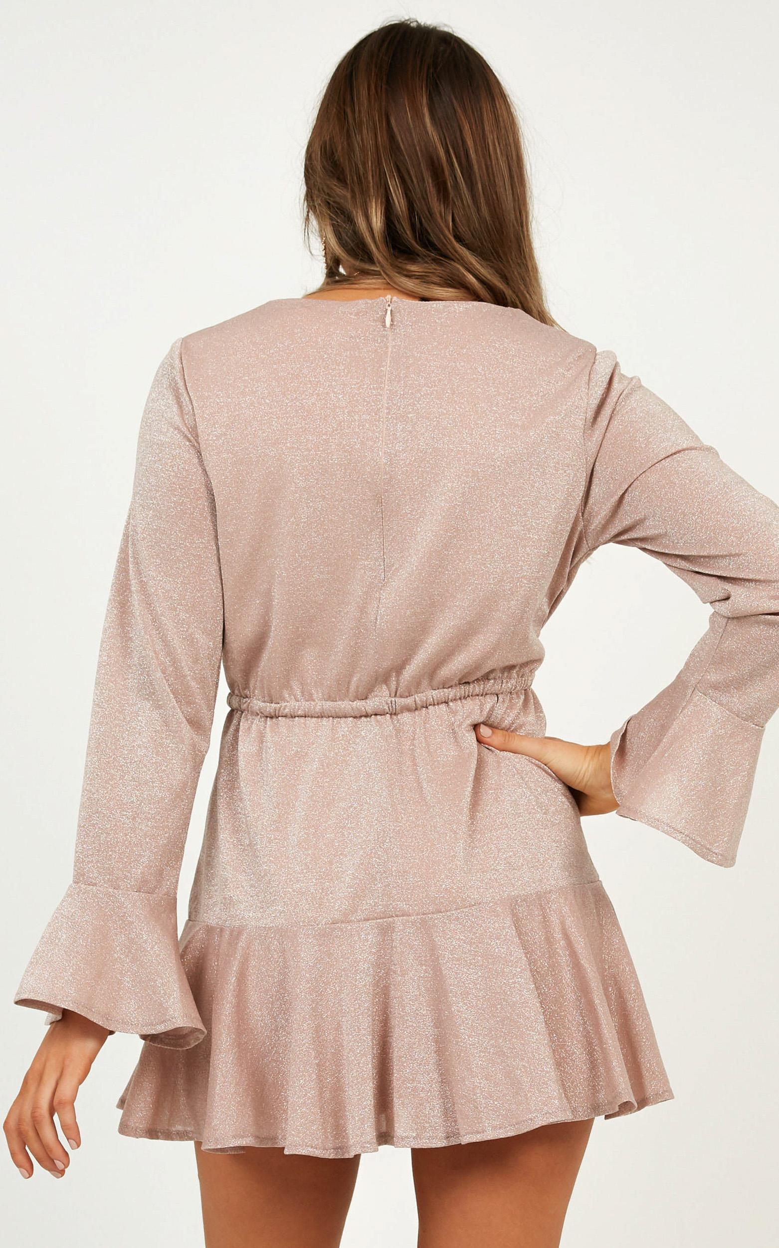 Faithful Reminder Dress in Blush - 12 (L), Blush, hi-res image number null