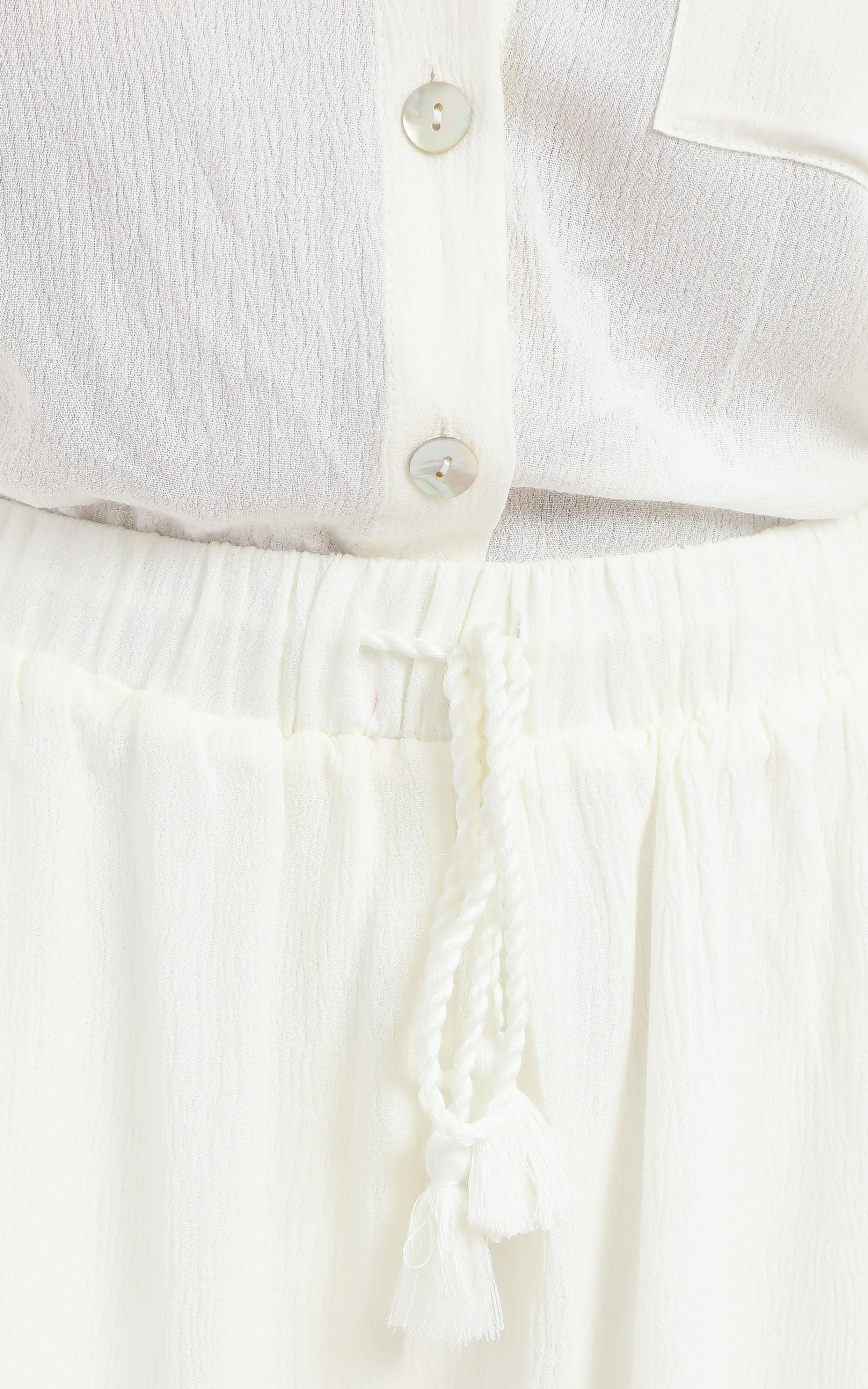 Jubilee Two Piece Set in White - 14 (XL), White, hi-res image number null
