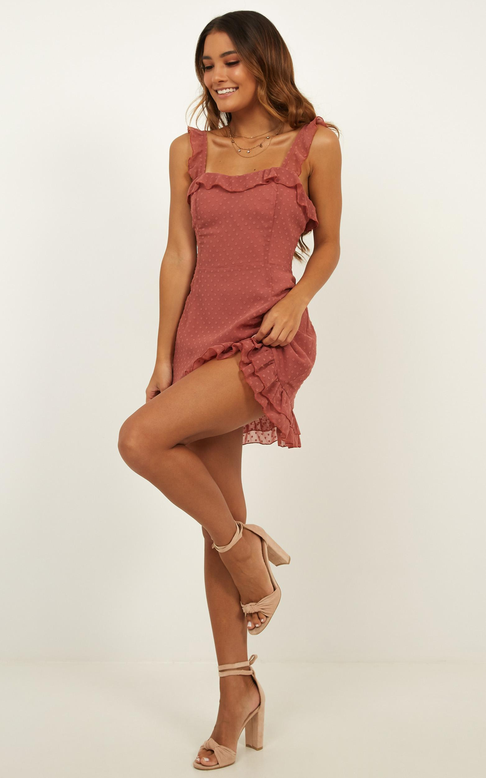 Dream Everyday Dress in dusty rose, Pink, hi-res image number null