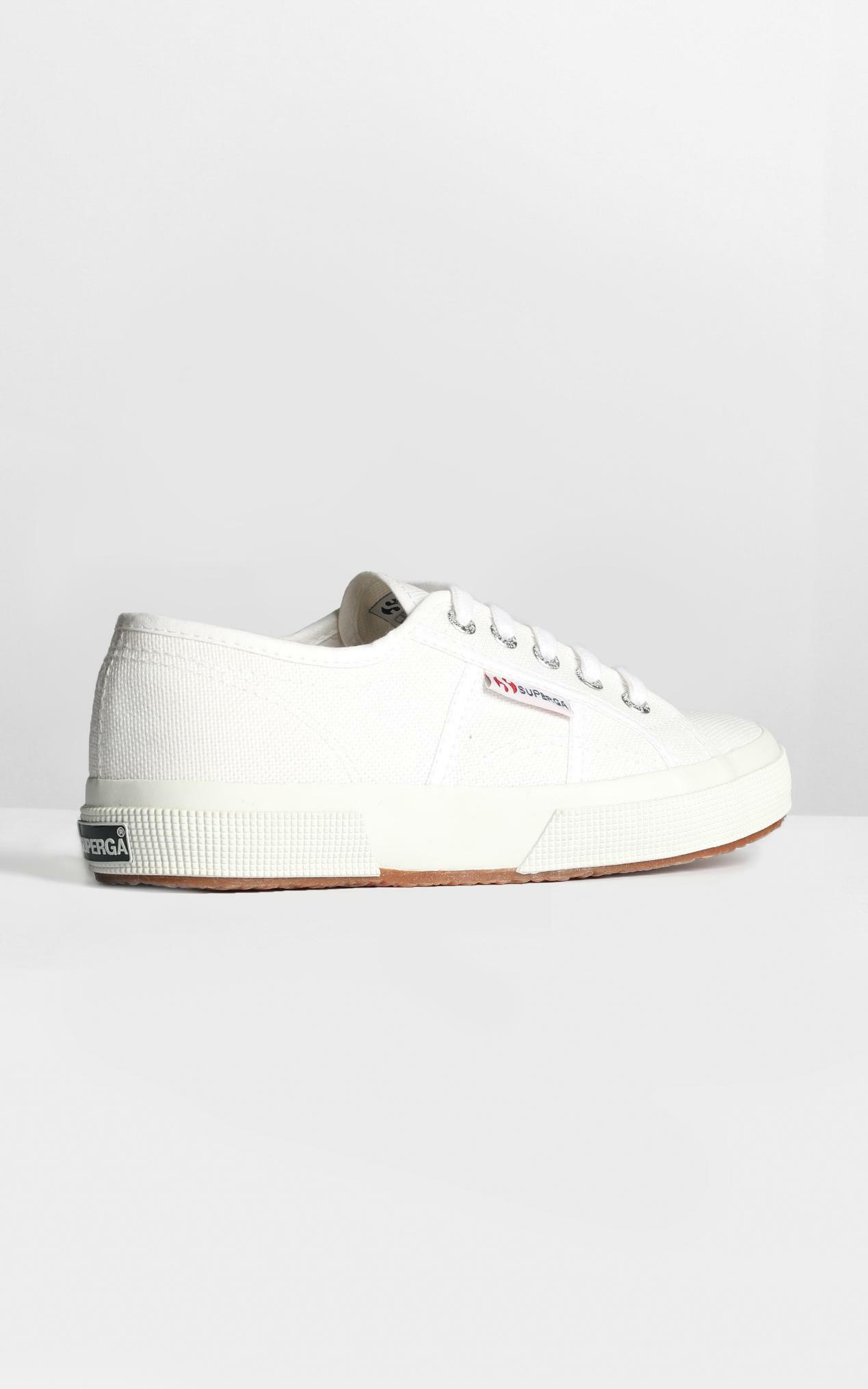 Superga - 2750 Cotu Classic Sneakers in white canvas - 5, White, hi-res image number null