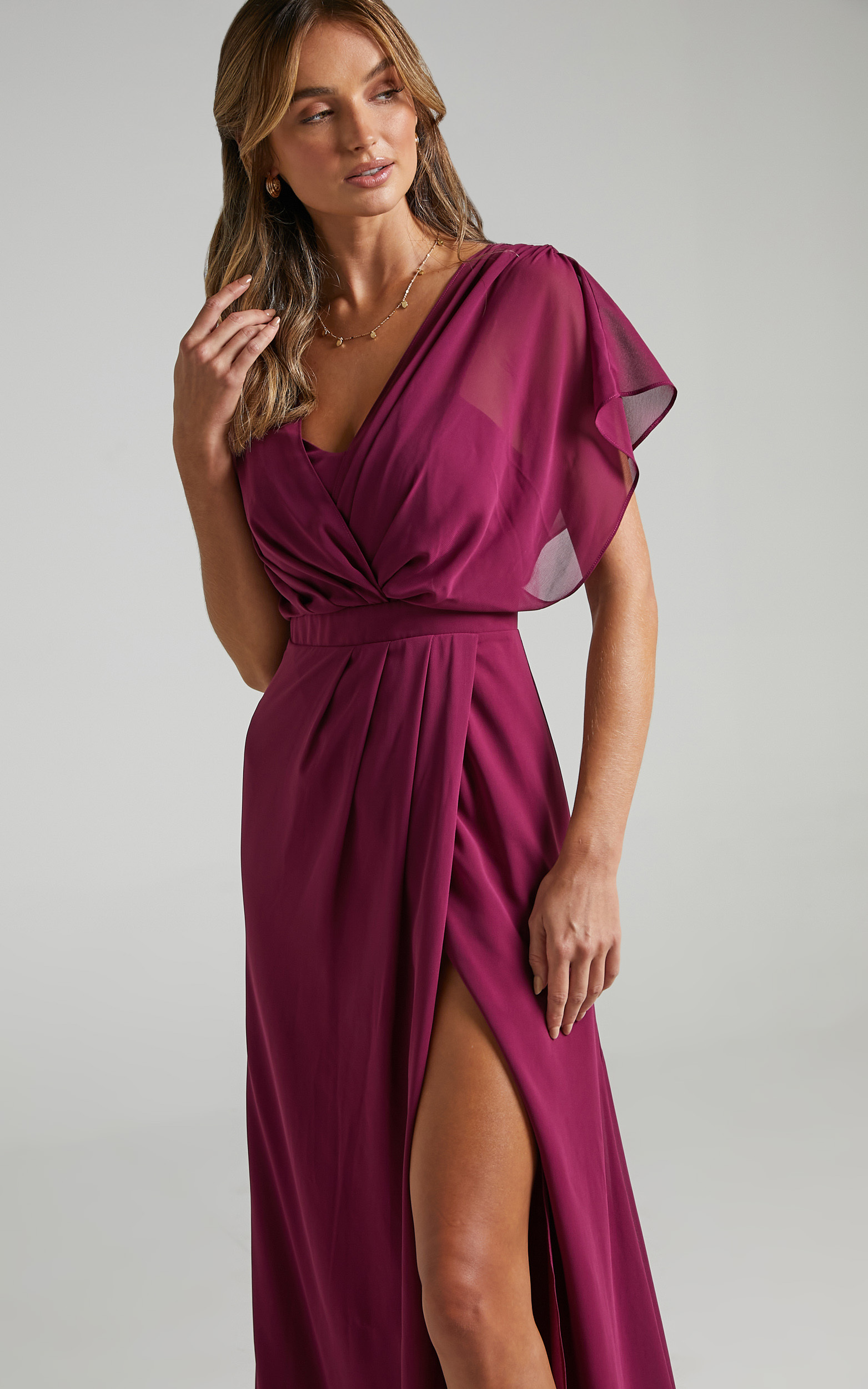 Lovers Gaze Dress in Mulberry - 06, PRP2, hi-res image number null