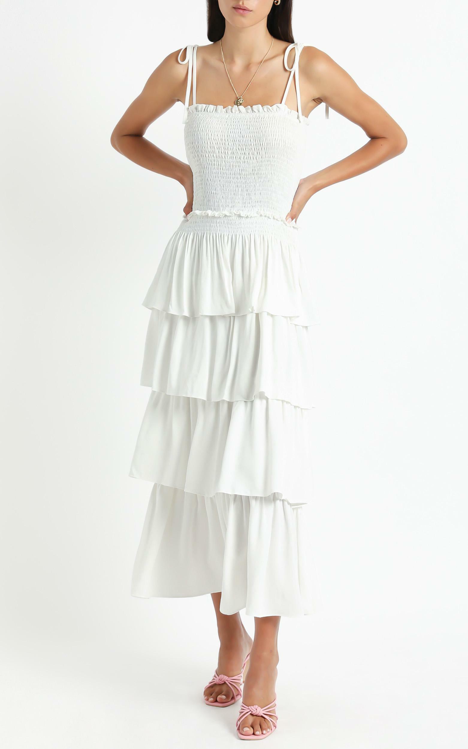 Kalli Dress in White - 6 (XS), White, hi-res image number null