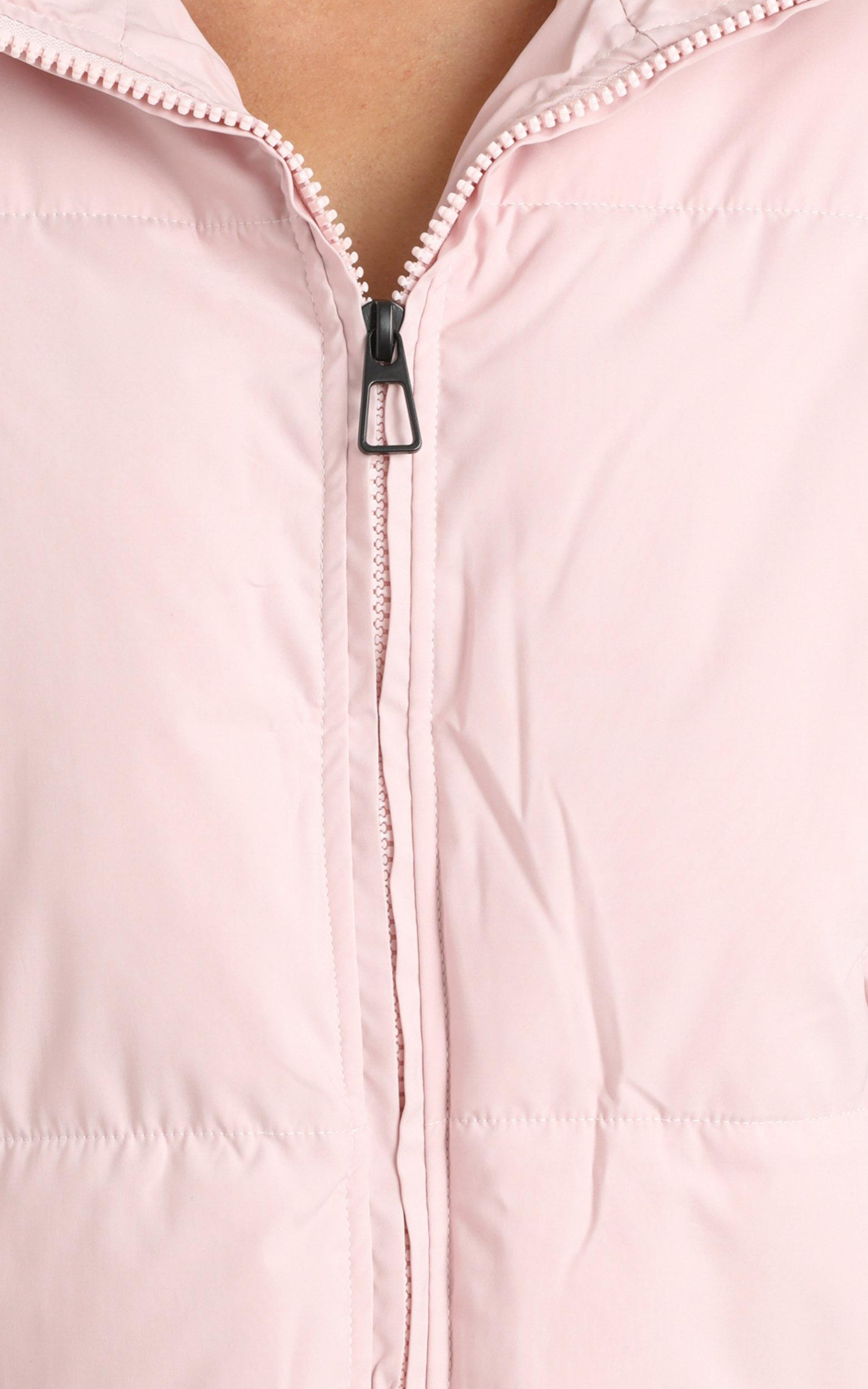 Windsor Puffer Jacket in Pink - 12 (L), Pink, hi-res image number null