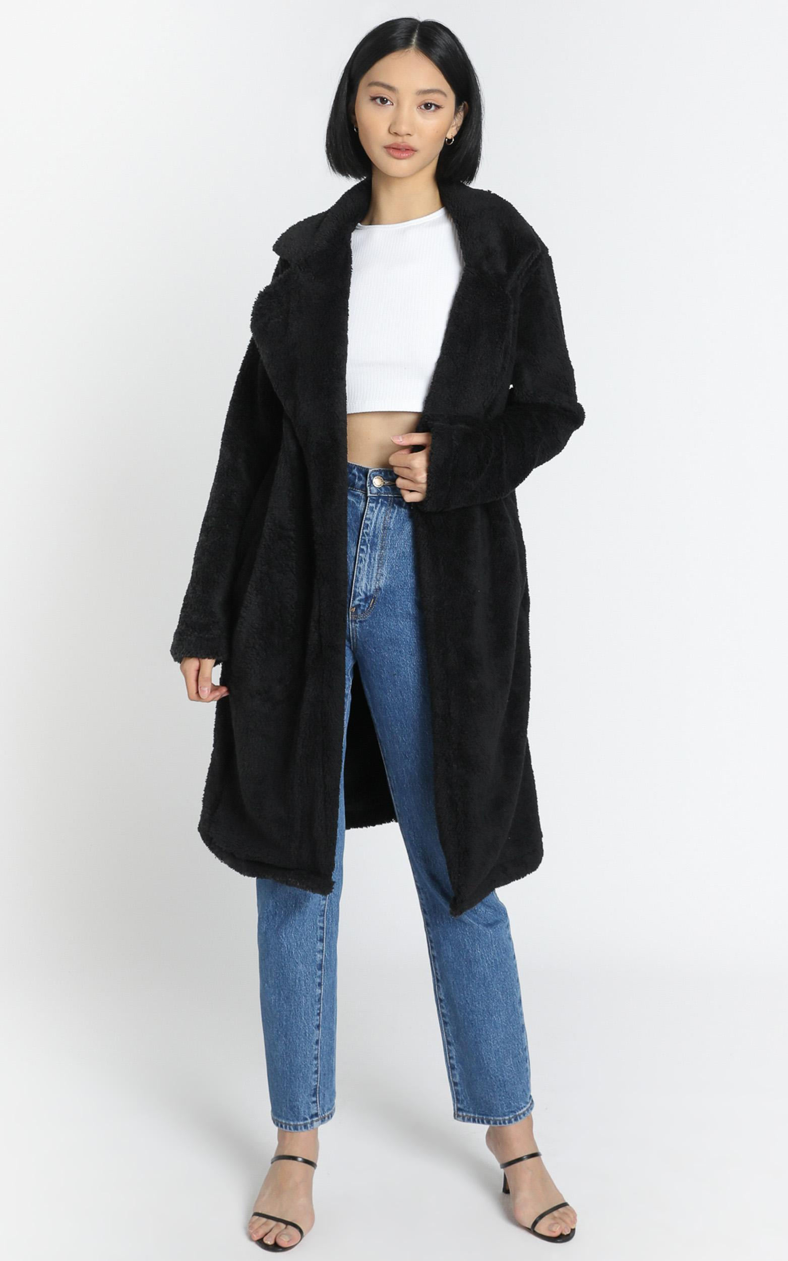 Adairia Coat in Black - 6 (XS), Black, hi-res image number null