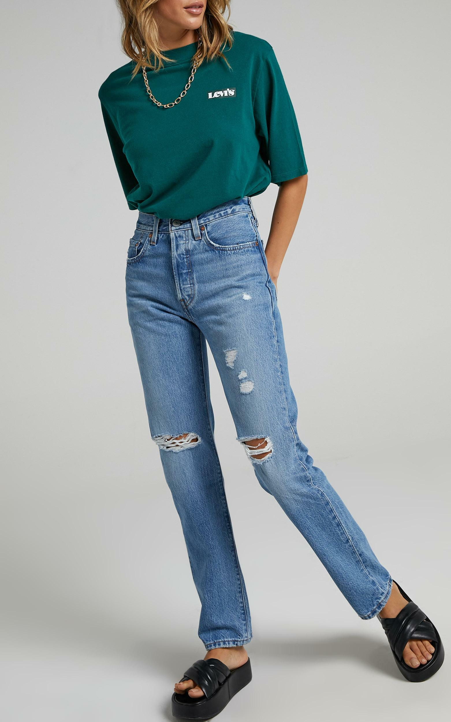 Levis - 501 Jeans in Athens Crown Decon - 06, BLU1, hi-res image number null