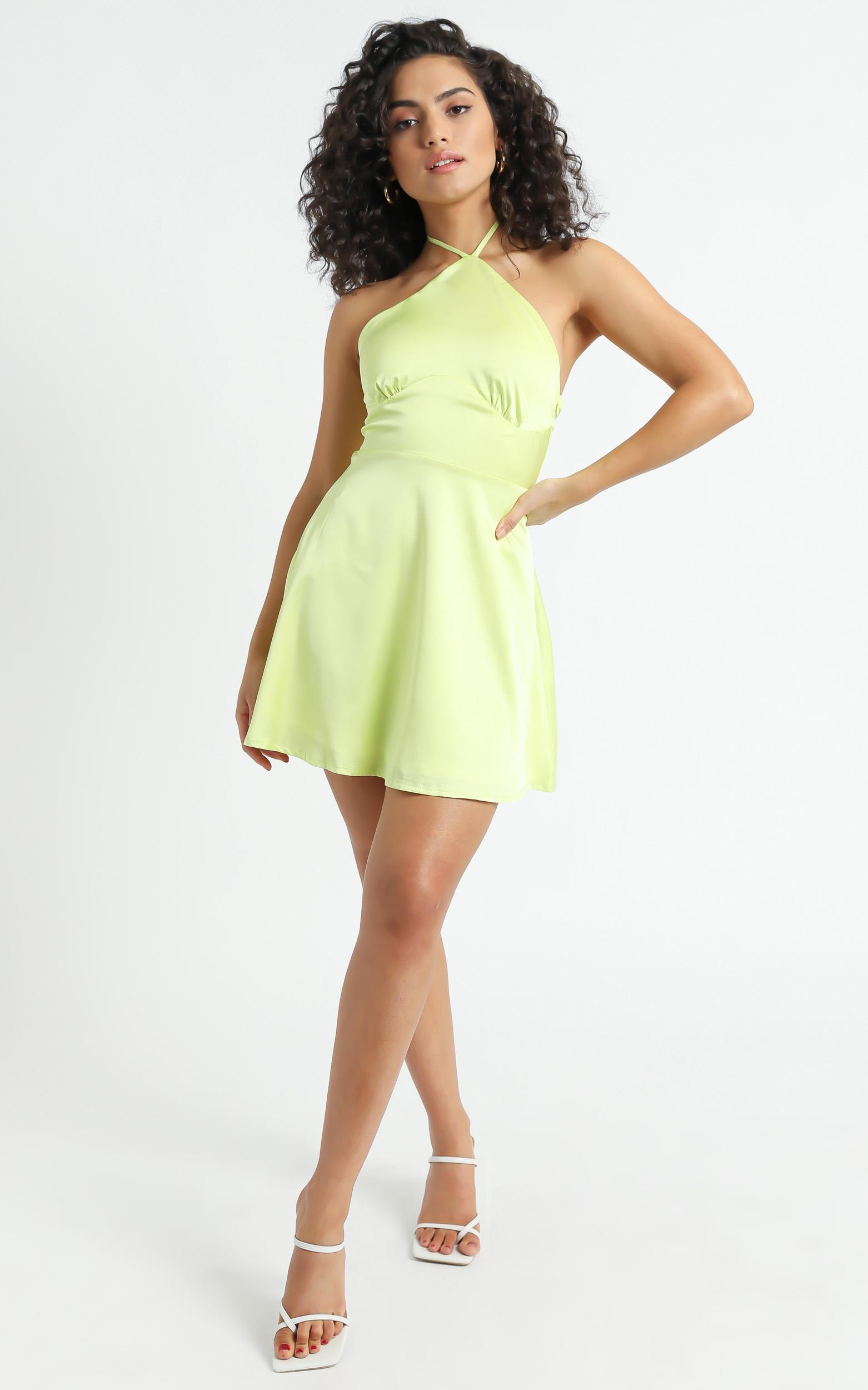 Nerolia Dress in Lime Green - 06, GRN3, hi-res image number null