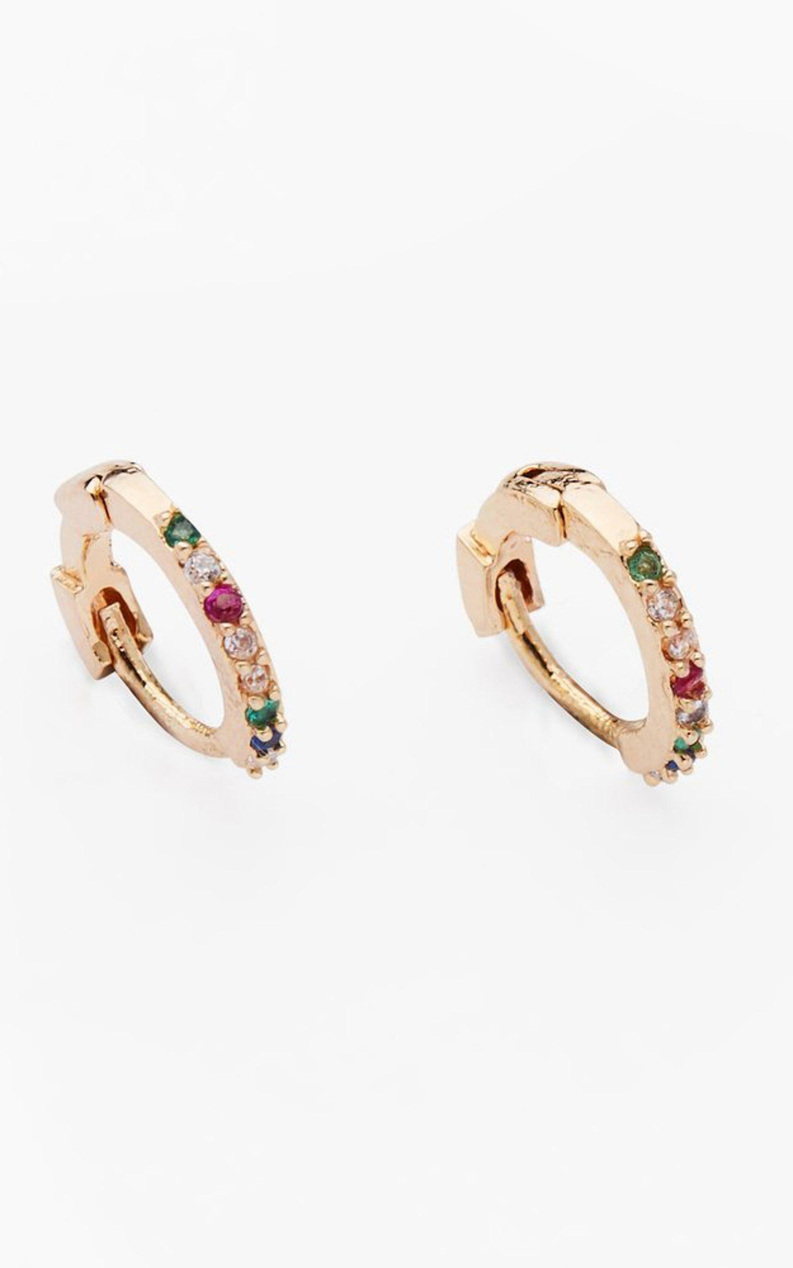 Primavera by Reliquia - Rainbow Huggies in Gold, Gold, hi-res image number null