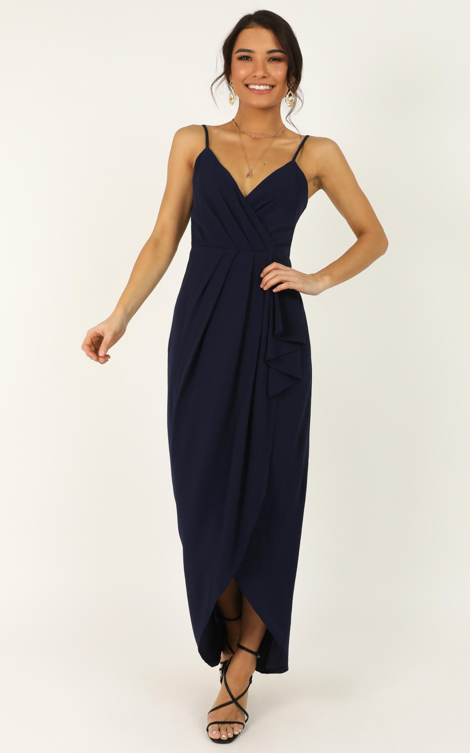 Gave Me You Dress in navy - 18 (XXXL), Navy, hi-res image number null