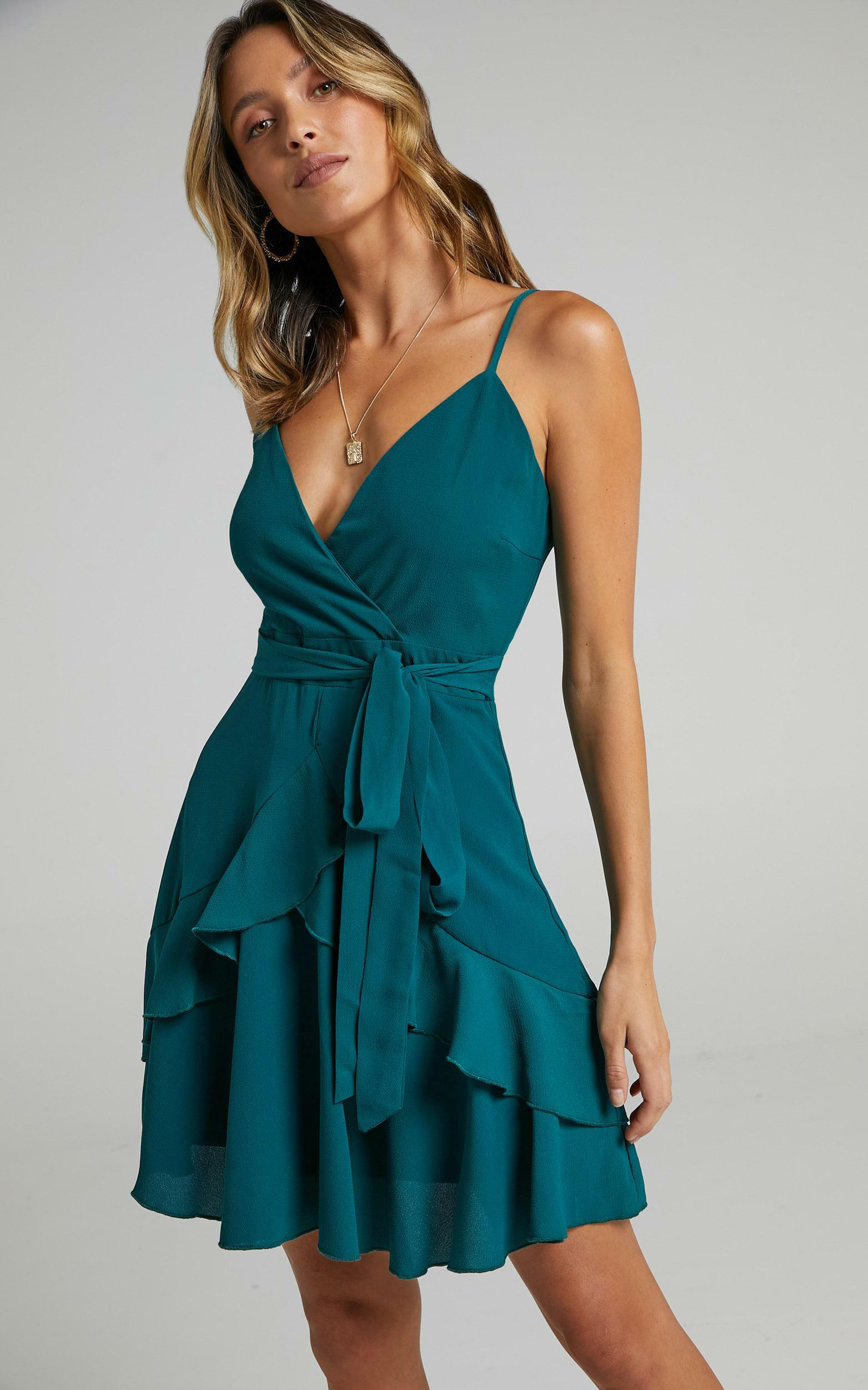 Feels Like Love Dress in Forest Green - 04, GRN3, hi-res image number null