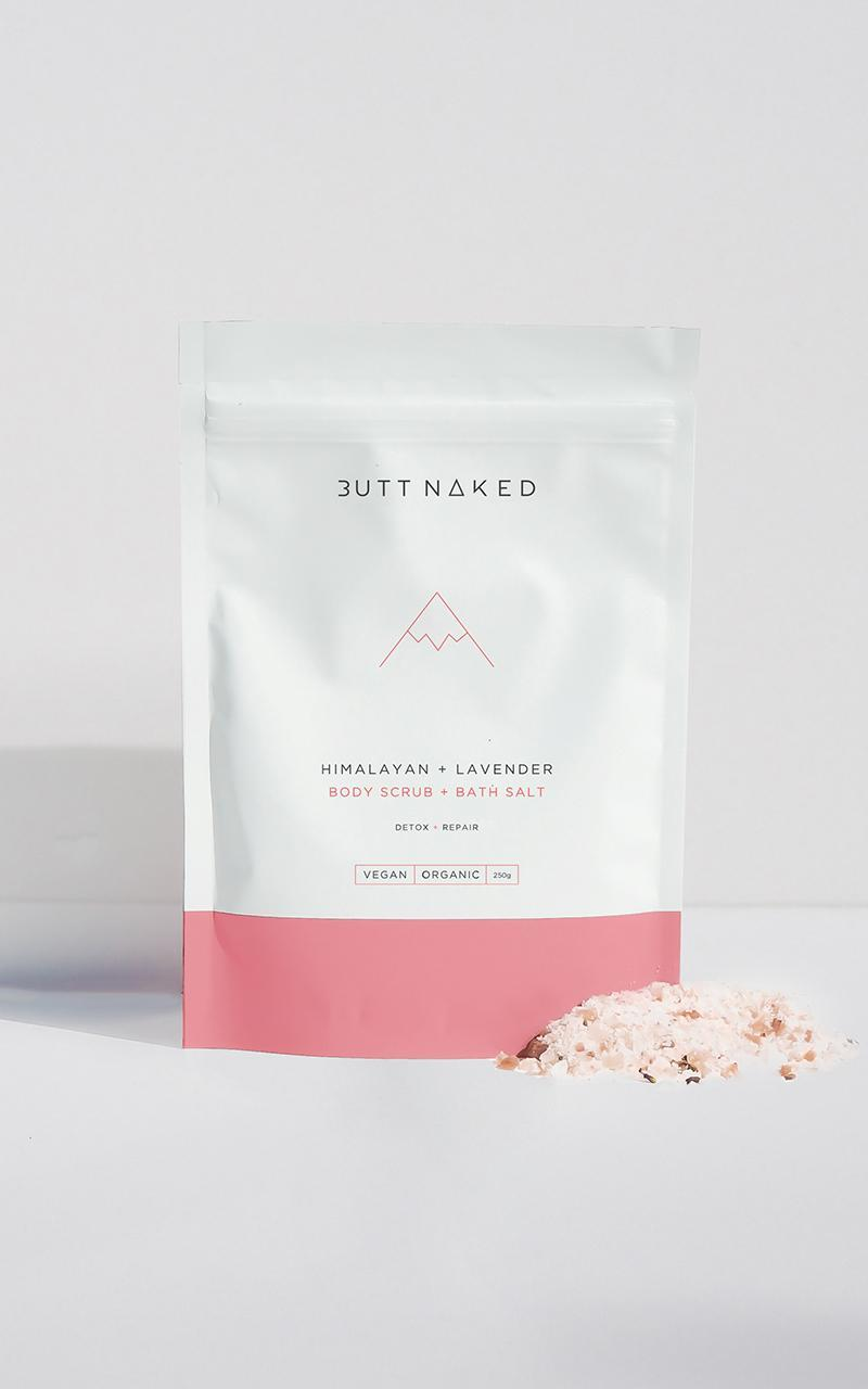 Butt Naked - Himalayan + Lavender Body Scrub 250g , Purple, hi-res image number null