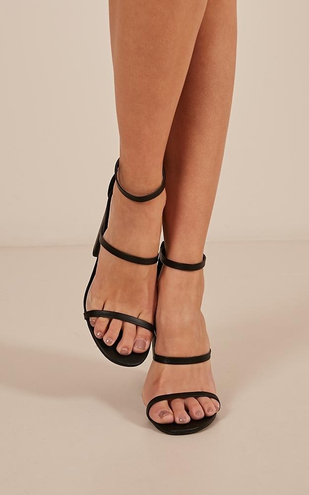 Alona heels in black - 10, Black, hi-res image number null