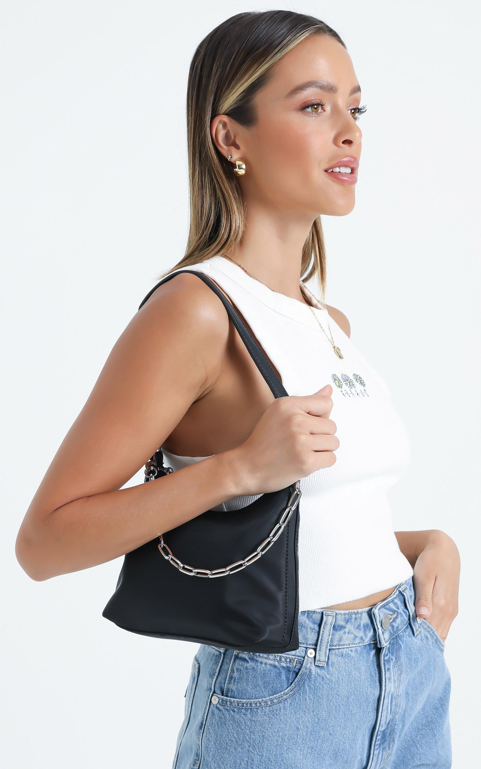 Georgia Mae - The Ryder Bag in Black, , hi-res image number null