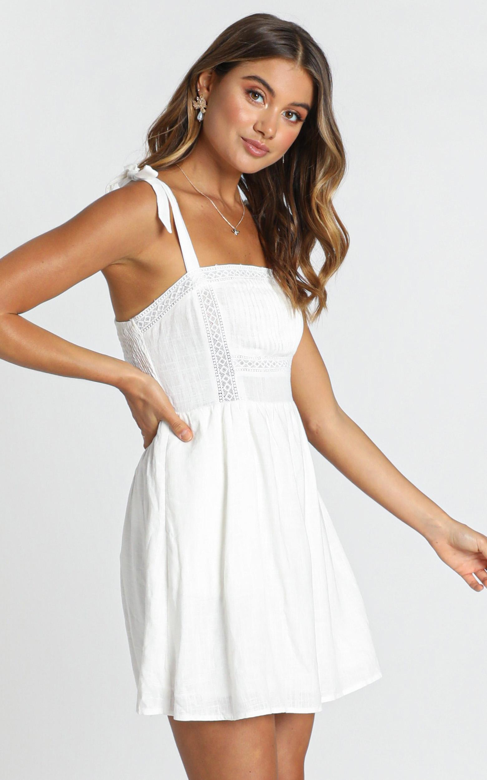 Hawaii Dreaming Dress in white - 12 (L), White, hi-res image number null