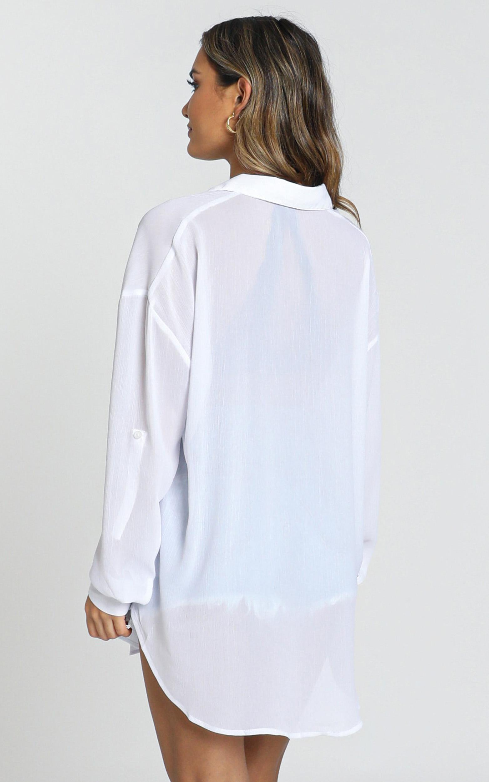 Morning Call shirt in white - 20 (XXXXL), White, hi-res image number null
