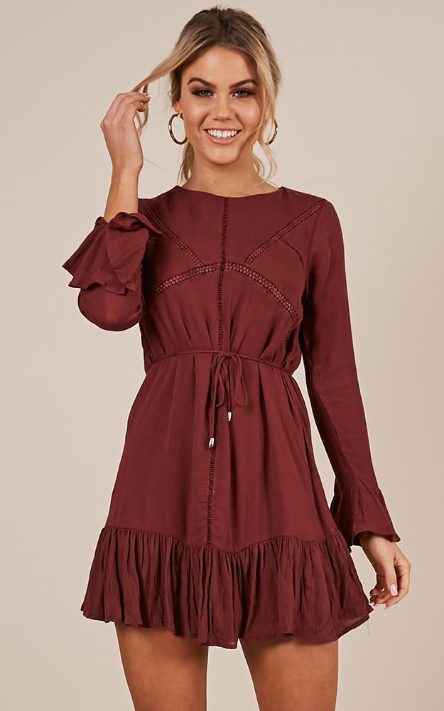 Attention To Detail dress in wine - 12 (L), Wine, hi-res image number null