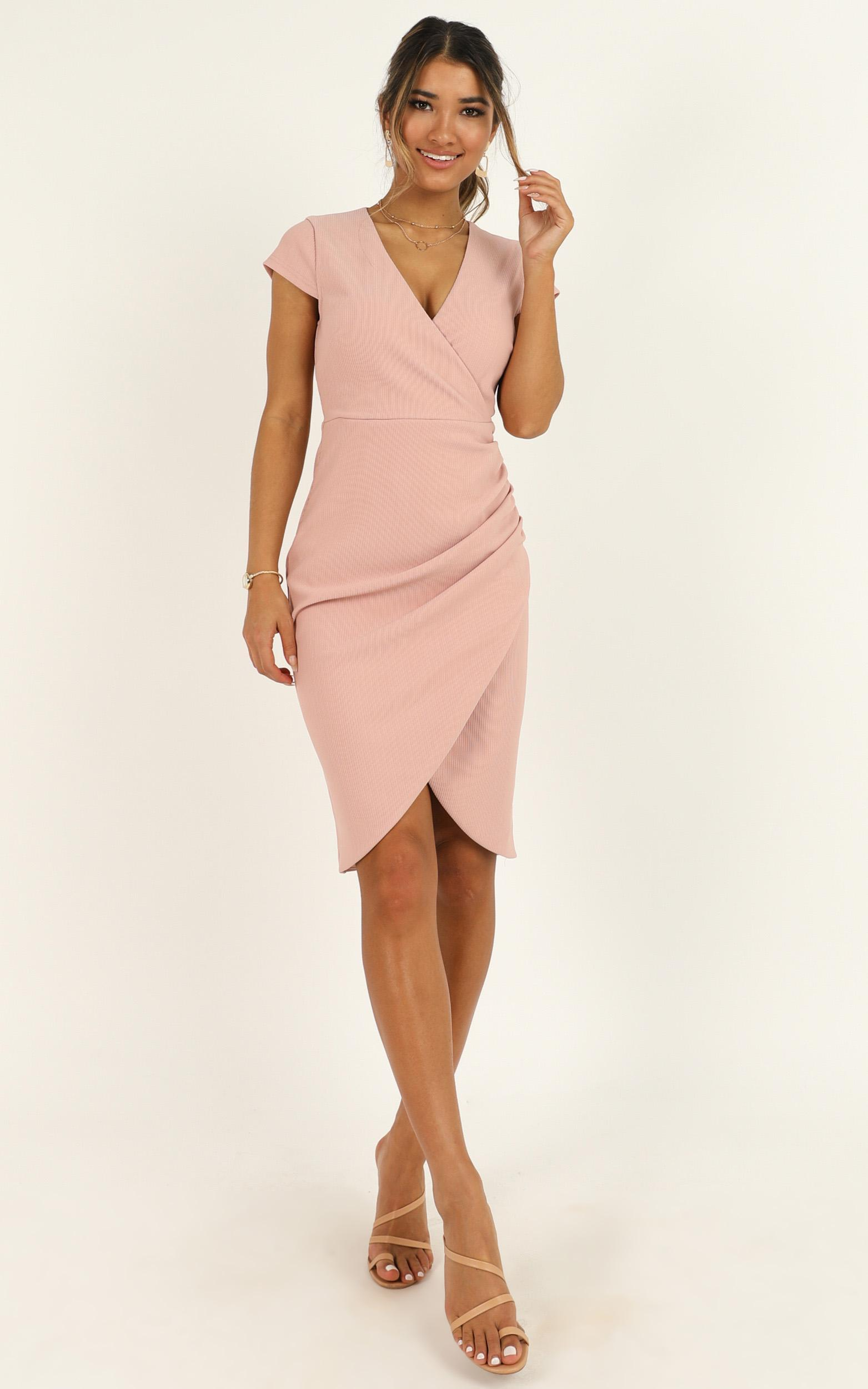 Quick Decider Dress in blush - 20 (XXXXL), Blush, hi-res image number null