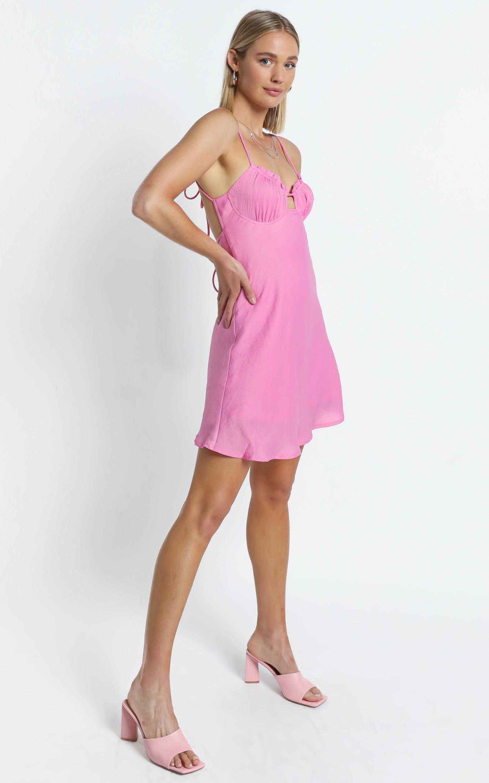 Tilbury Dress in Pink - 6 (XS), Pink, hi-res image number null