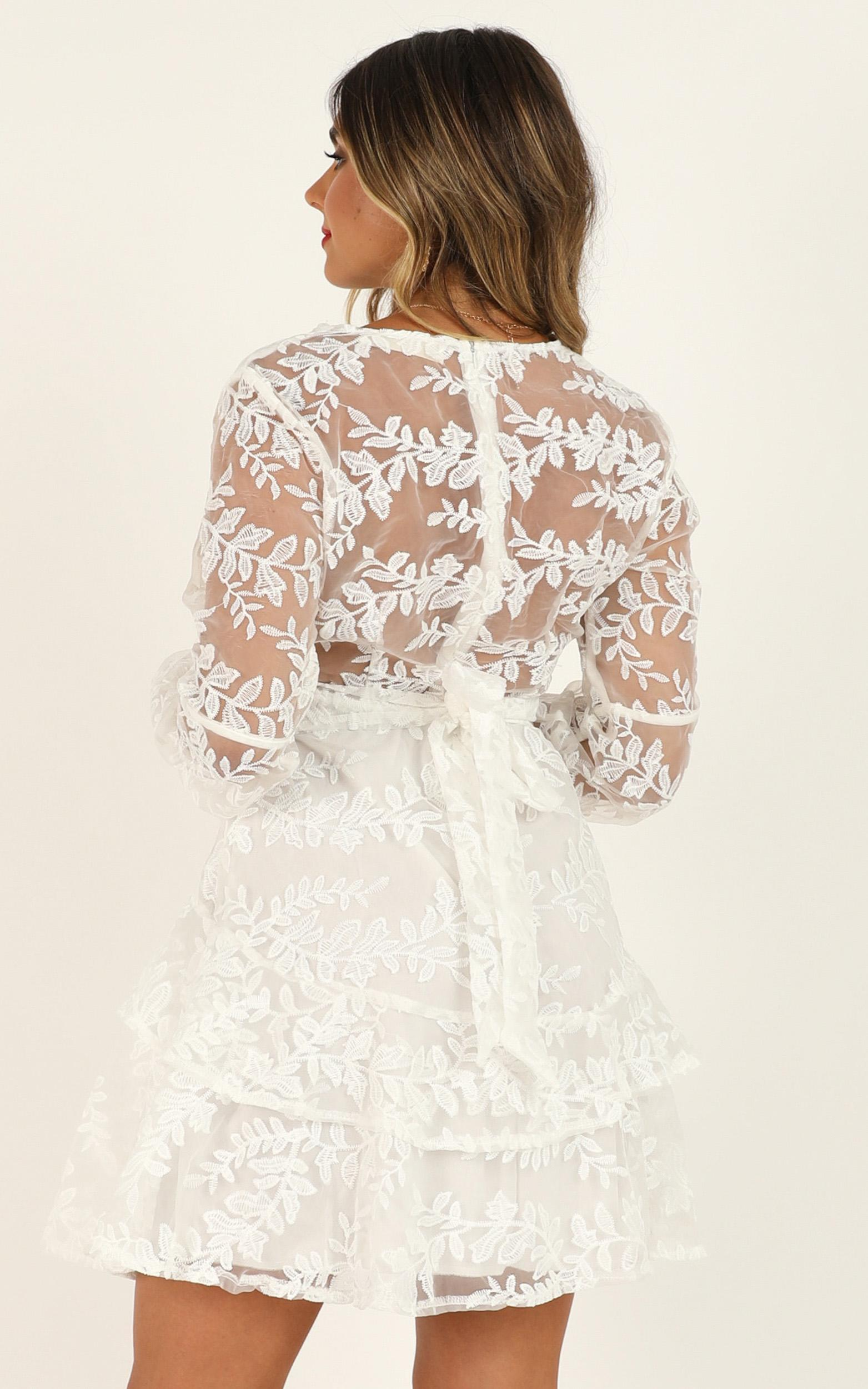 Magnolia Dreams dress in white lace - 12 (L), White, hi-res image number null
