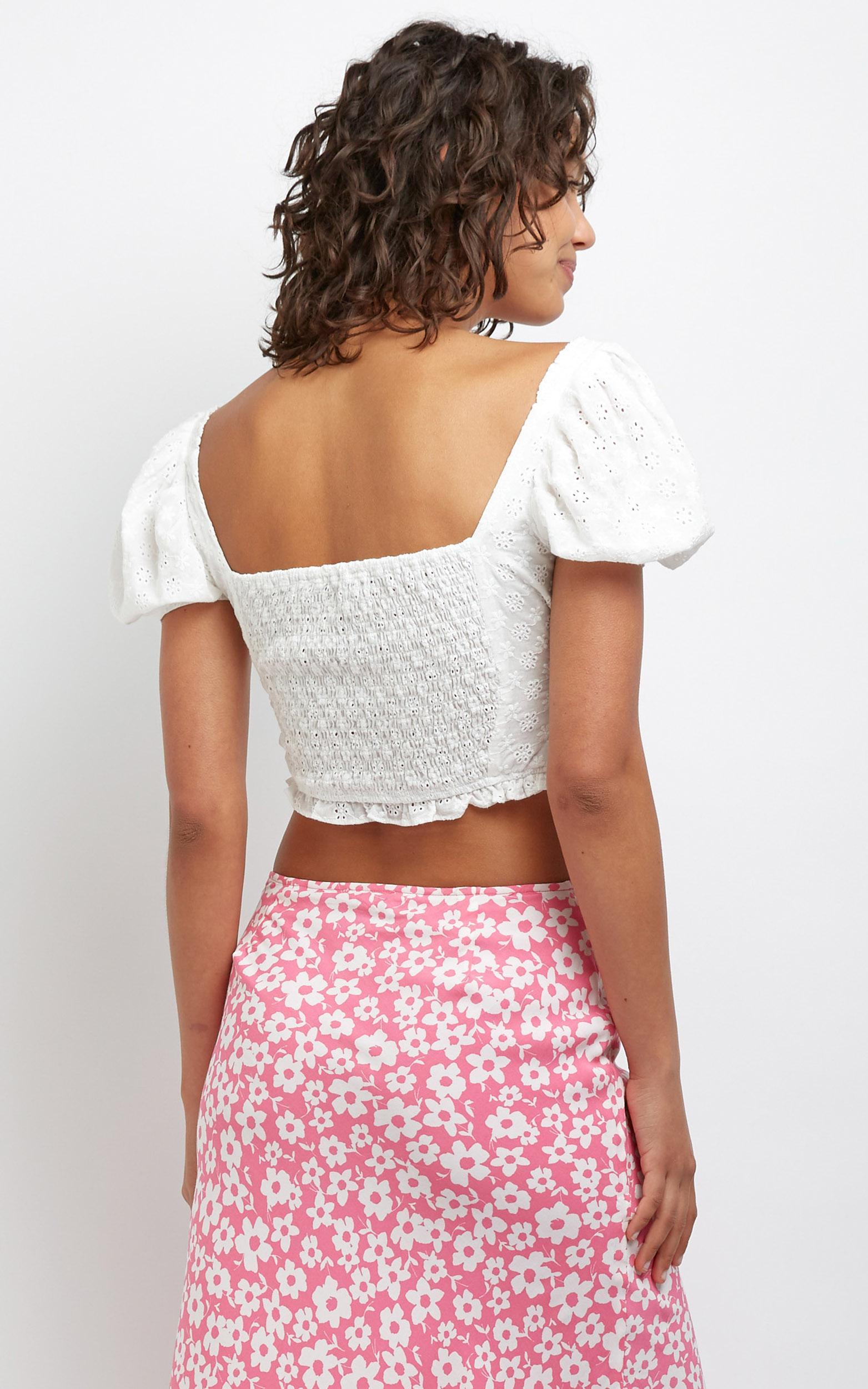Arien Top in White - L, White, hi-res image number null