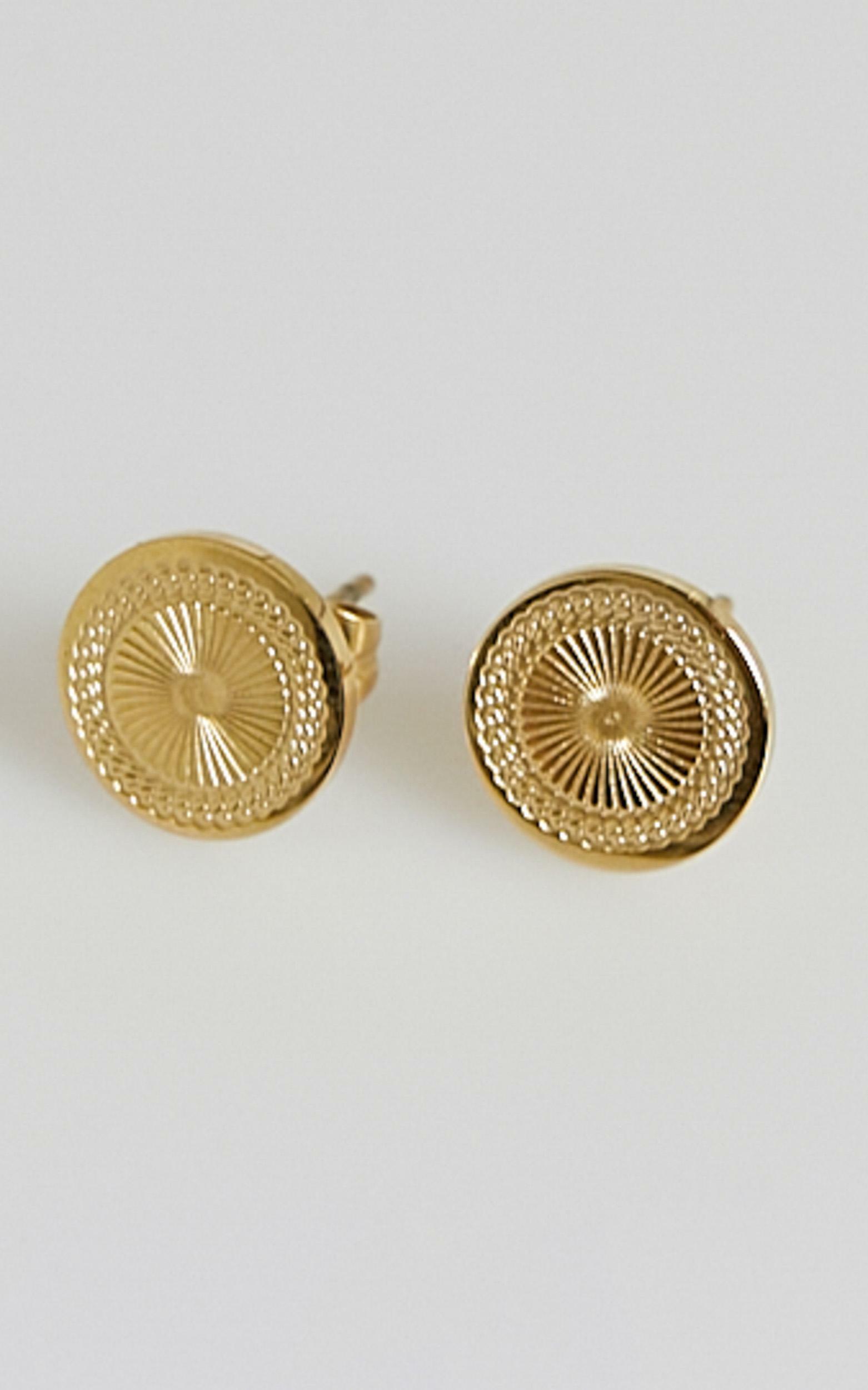 Peta and Jain - Aurora Earrings in Gold, GLD1, hi-res image number null