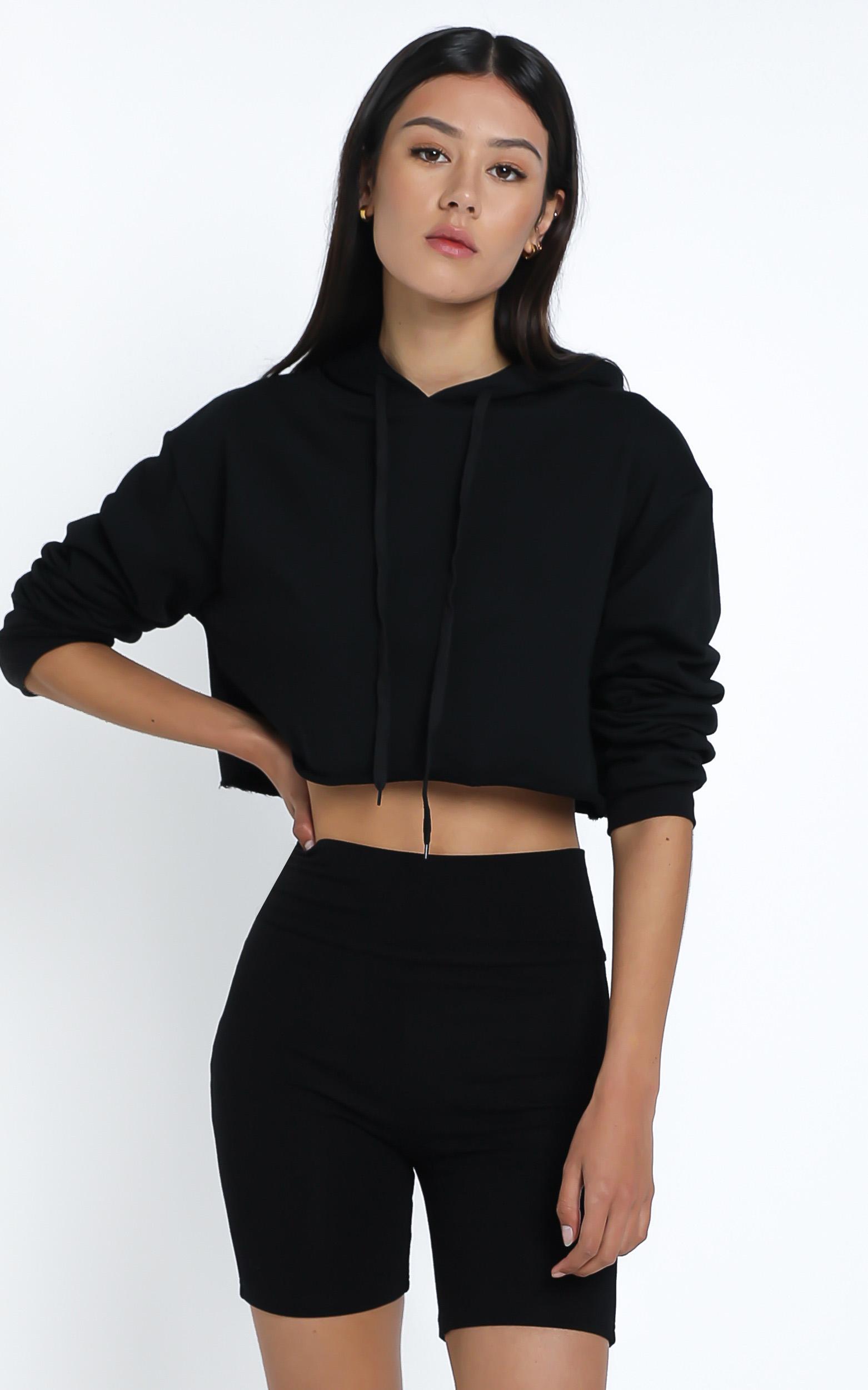 Nerida Bike Shorts in Black - 14 (XL), Black, hi-res image number null
