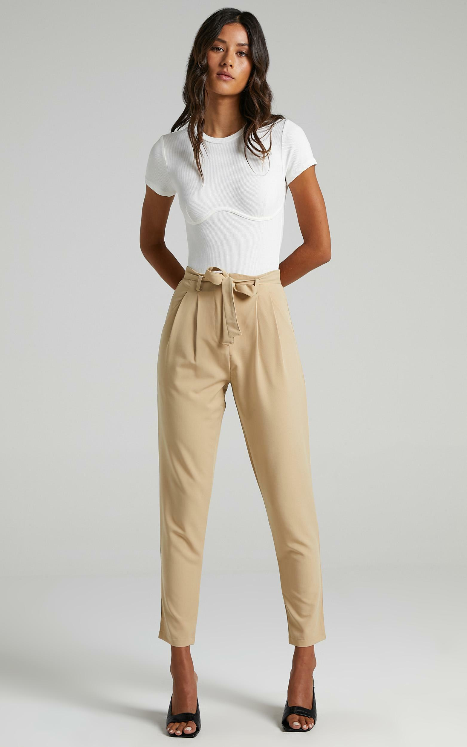 Building My Empire Pants in Camel - 6 (XS), Camel, hi-res image number null