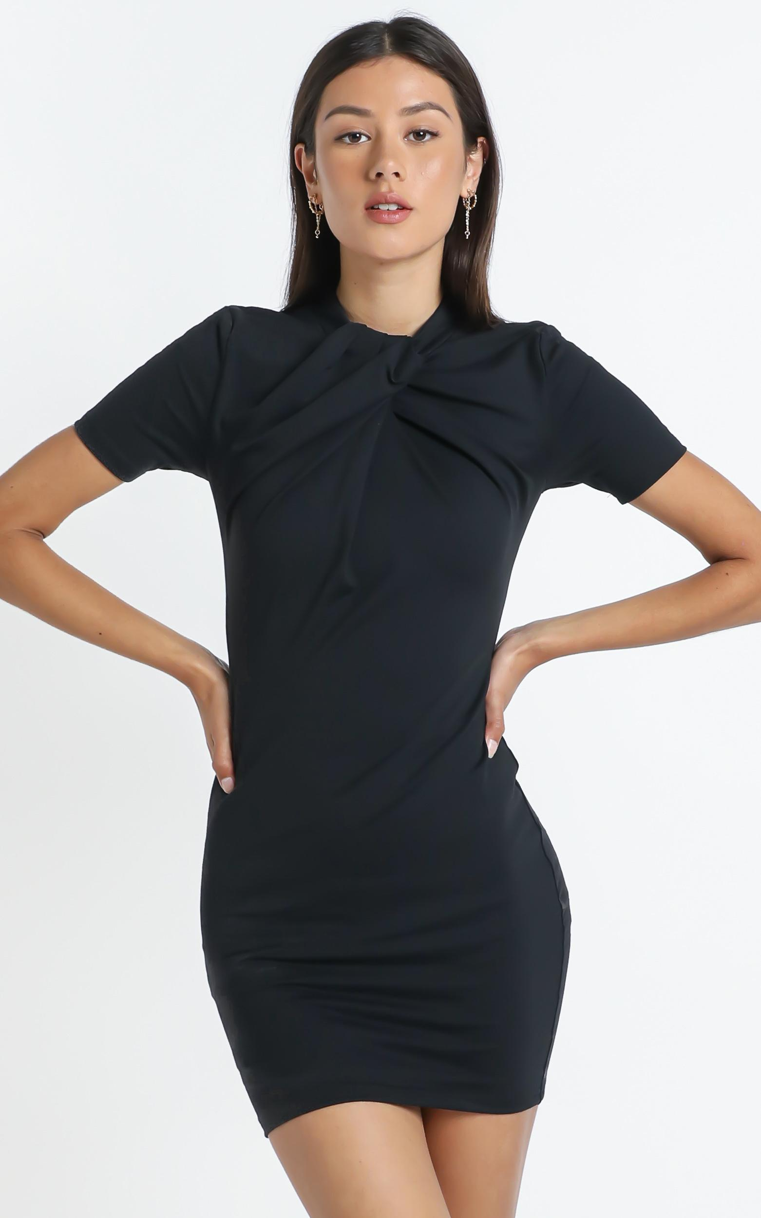 Rudie Dress in Black - 14 (XL), Black, hi-res image number null