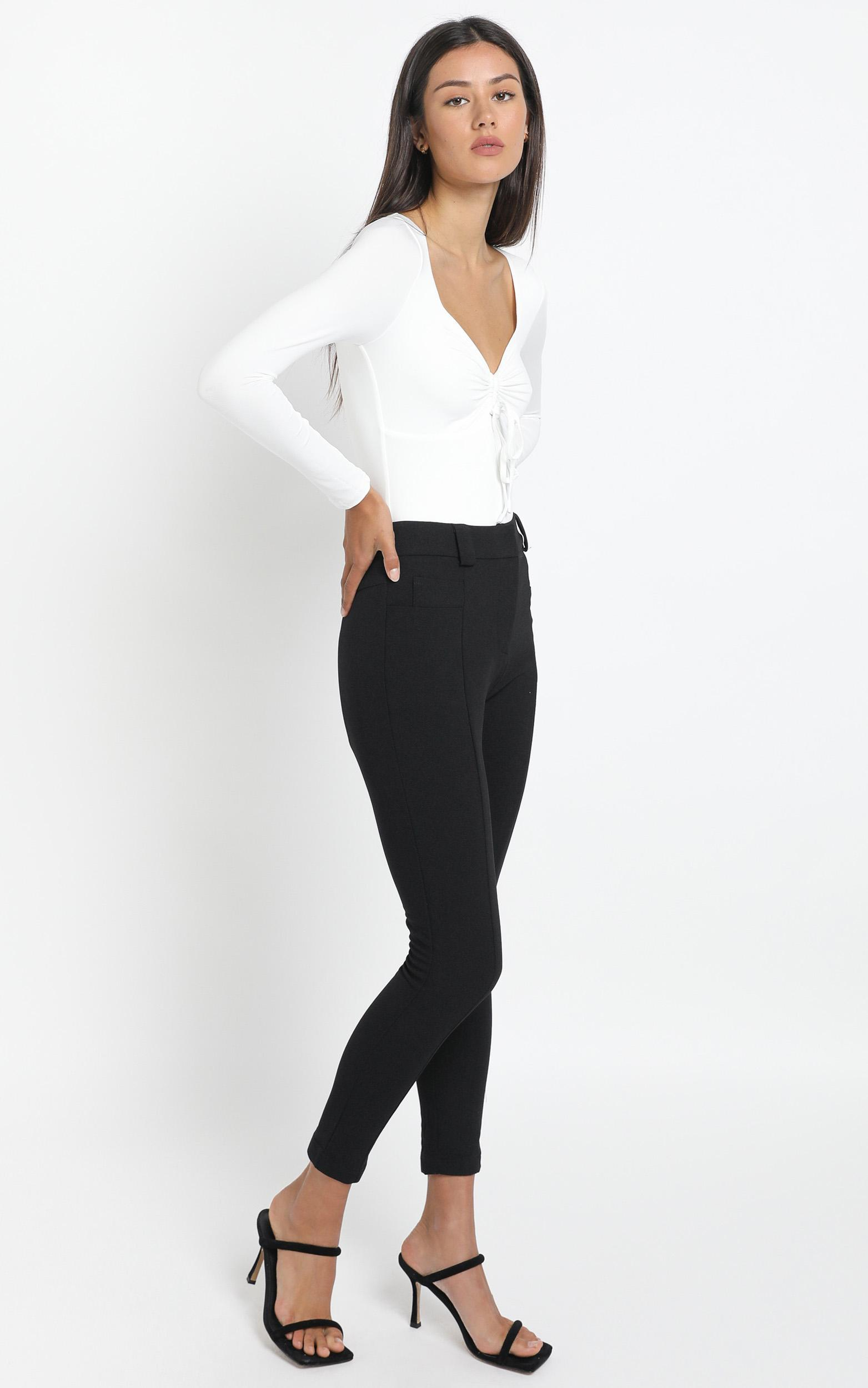 Iris Pants in Black - 14 (XL), BLK1, hi-res image number null